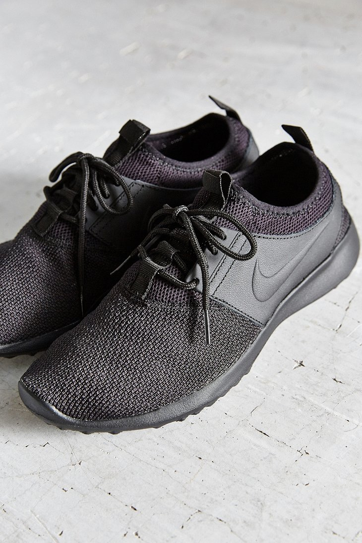 best website 2ff5f 80d46 Lyst - Nike Womens Juvenate Textile Sneaker in Black