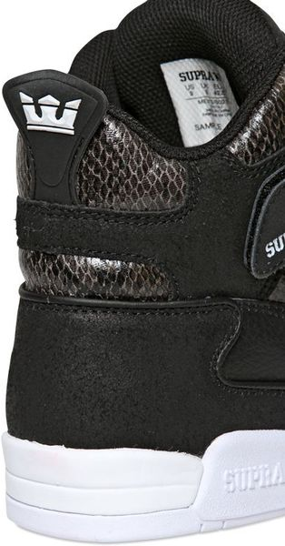 Inexpensive Mens Supra Bleeker - Shoes Supra Bleeker Leather High Top Sneaker Black