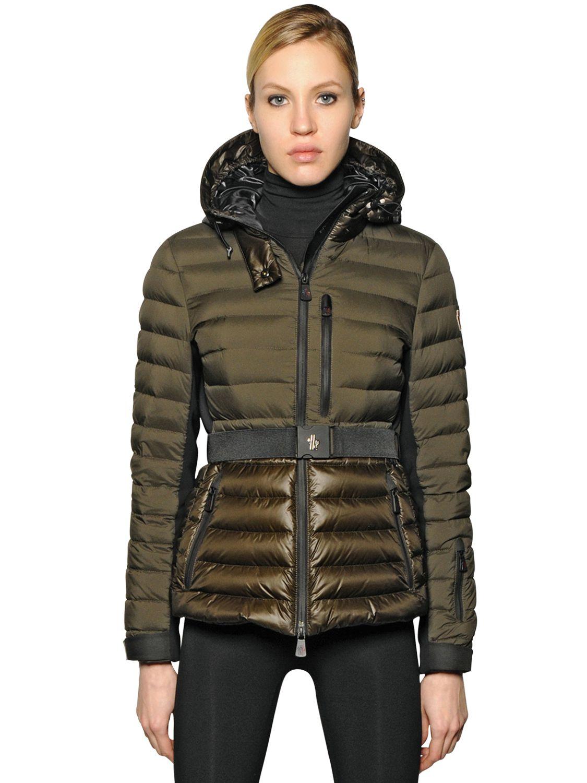 Lyst Moncler Grenoble Bruche Nylon Down Jacket In Black