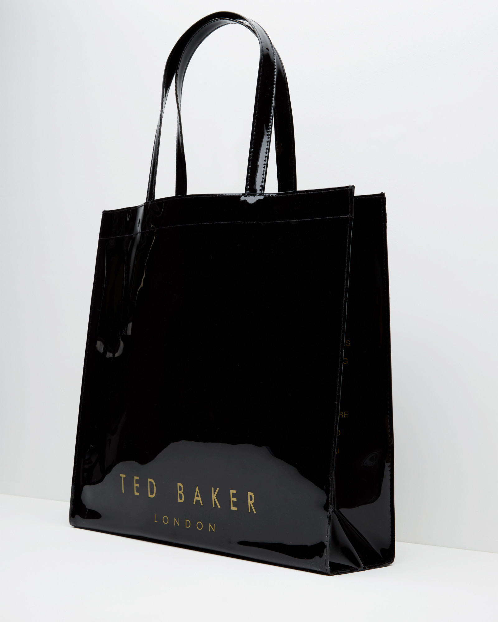 adf72a93179 Ted Baker Bow Detail Large Shopper Bag in Black - Lyst