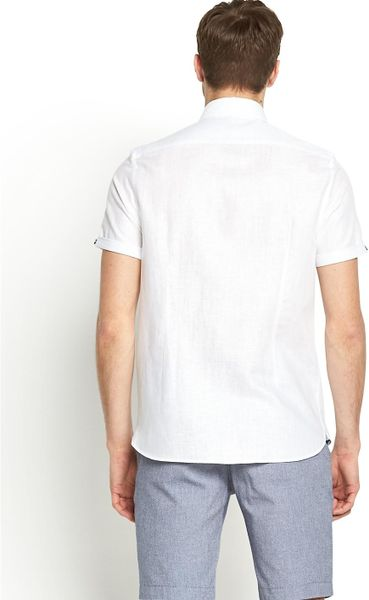 River Island Mens Short Sleeved Shirt