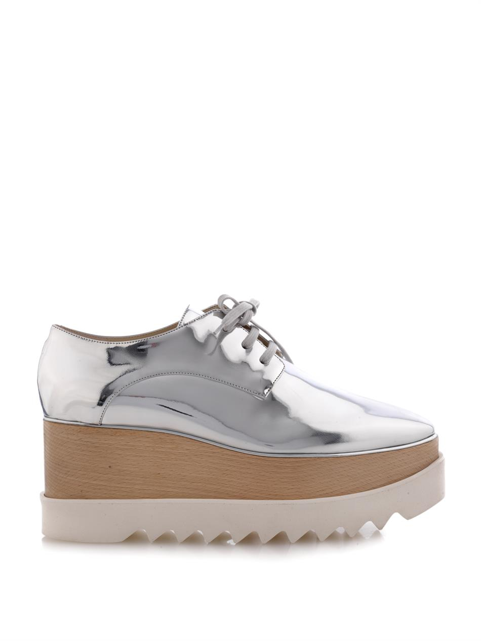Elyse Metallic Platform Sneakers Stella McCartney With Credit Card Cheap Price Cheap Sale 2018 rZqT5SveJs
