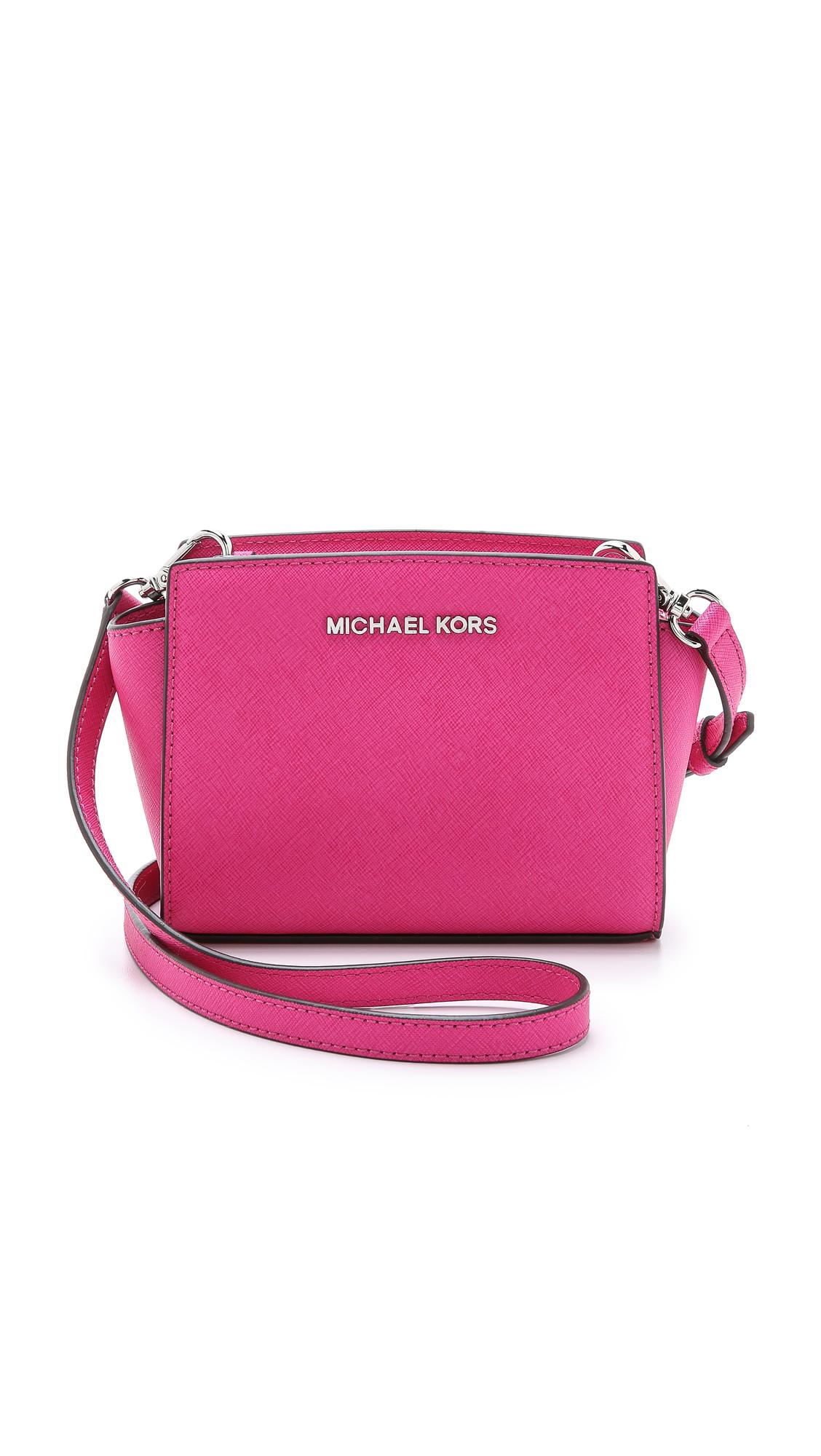 fd0e6068d9e MICHAEL Michael Kors Red Selma Mini Messenger Bag - Raspberry