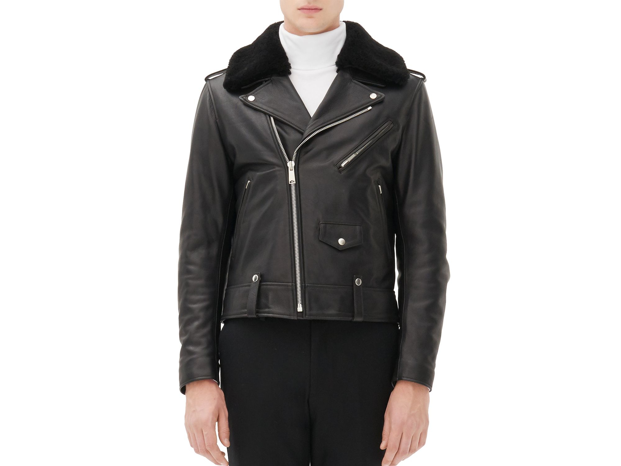 3a2f50036 Sandro Black Weapon Biker Jacket