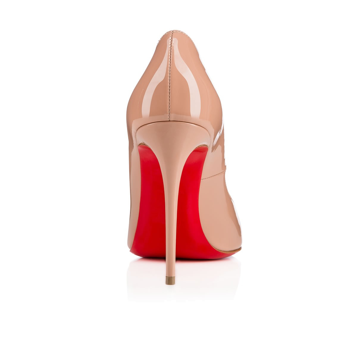 Christian louboutin T Poppins Patent Leather Sandals in Pink | Lyst