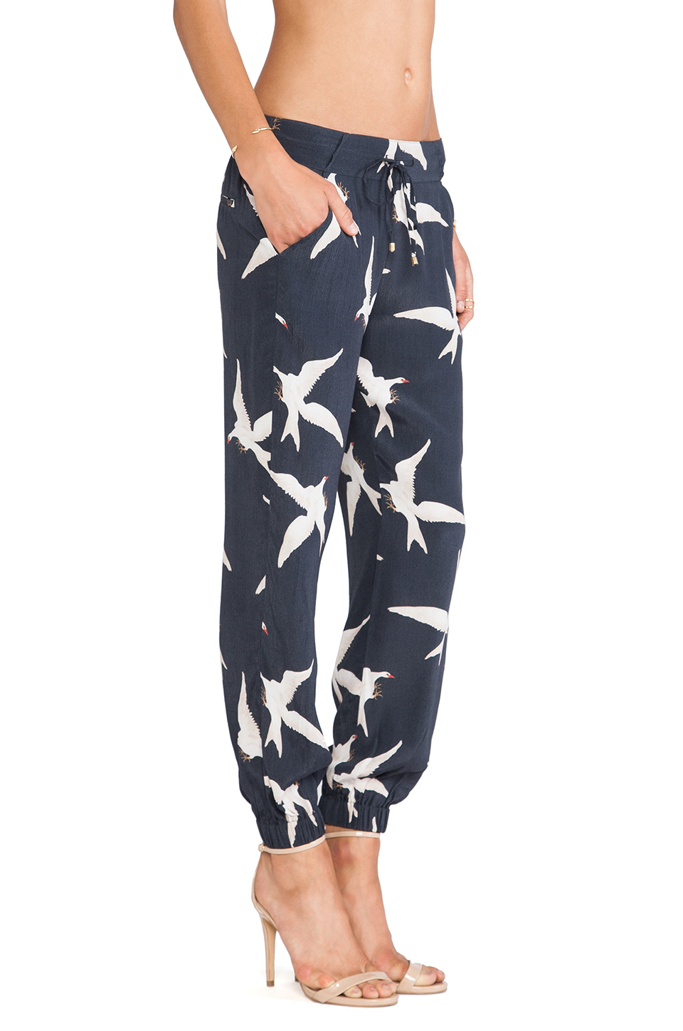 Lyst Sass Amp Bide Love Indeed Pants In Blue