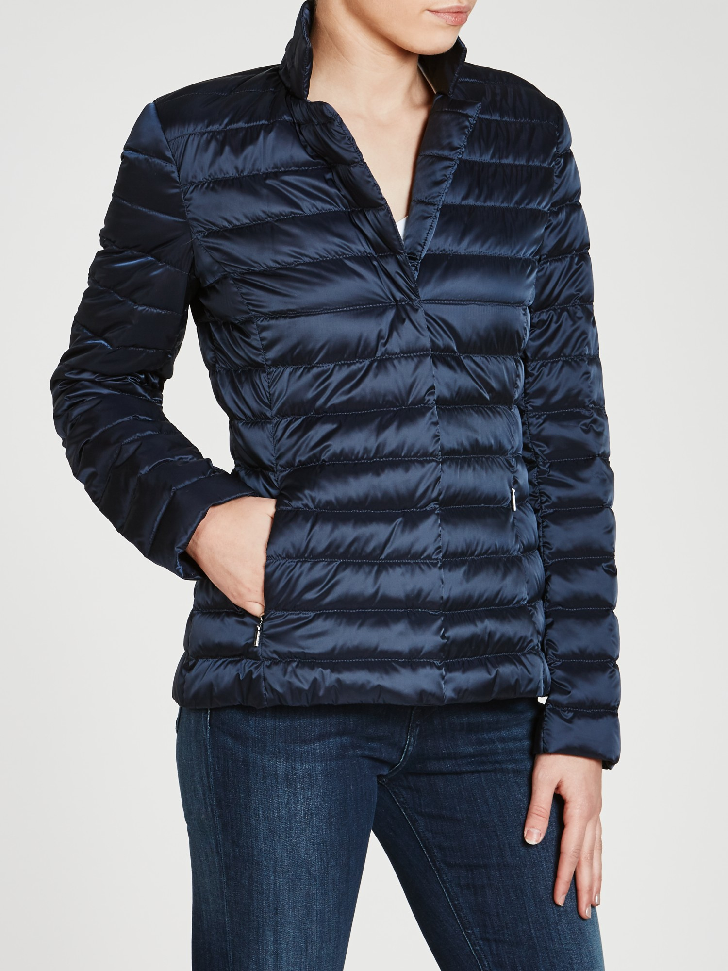 Lyst - Weekend by maxmara Chiara Quilted Jacket in Blue : max mara quilted jacket - Adamdwight.com