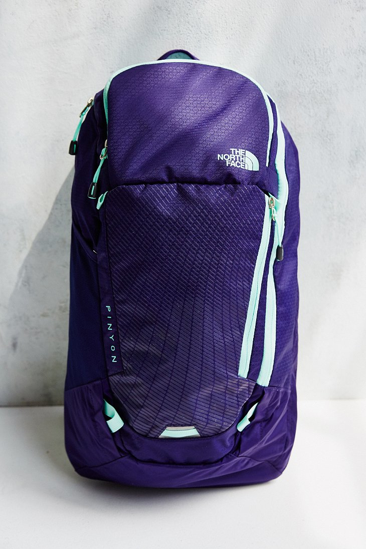 646bcae5c The North Face Purple Pinyon Backpack