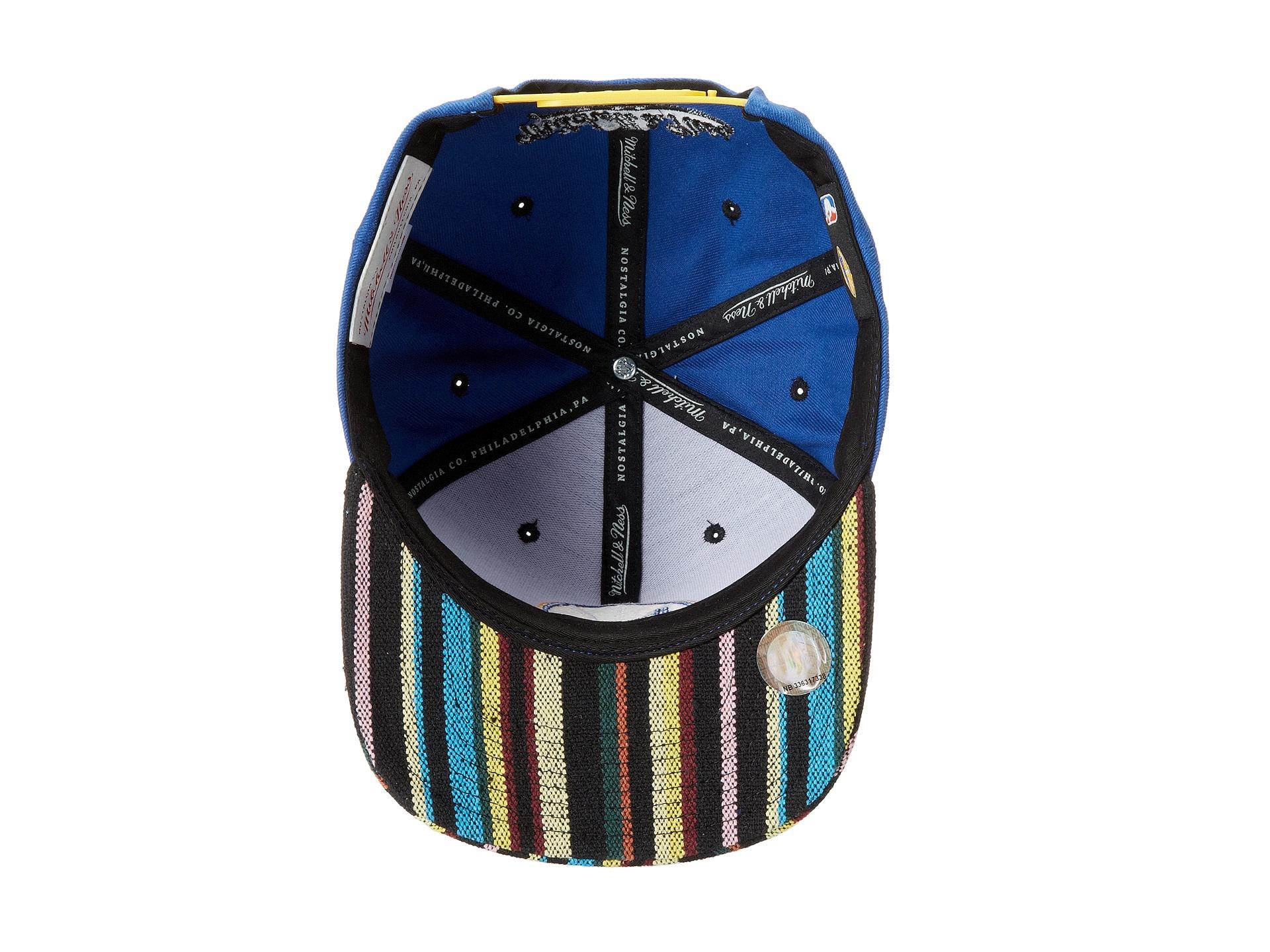 Lyst - Mitchell   Ness Nba Current Native Stripe 2tone Canvas ... 6cdff805bdf1