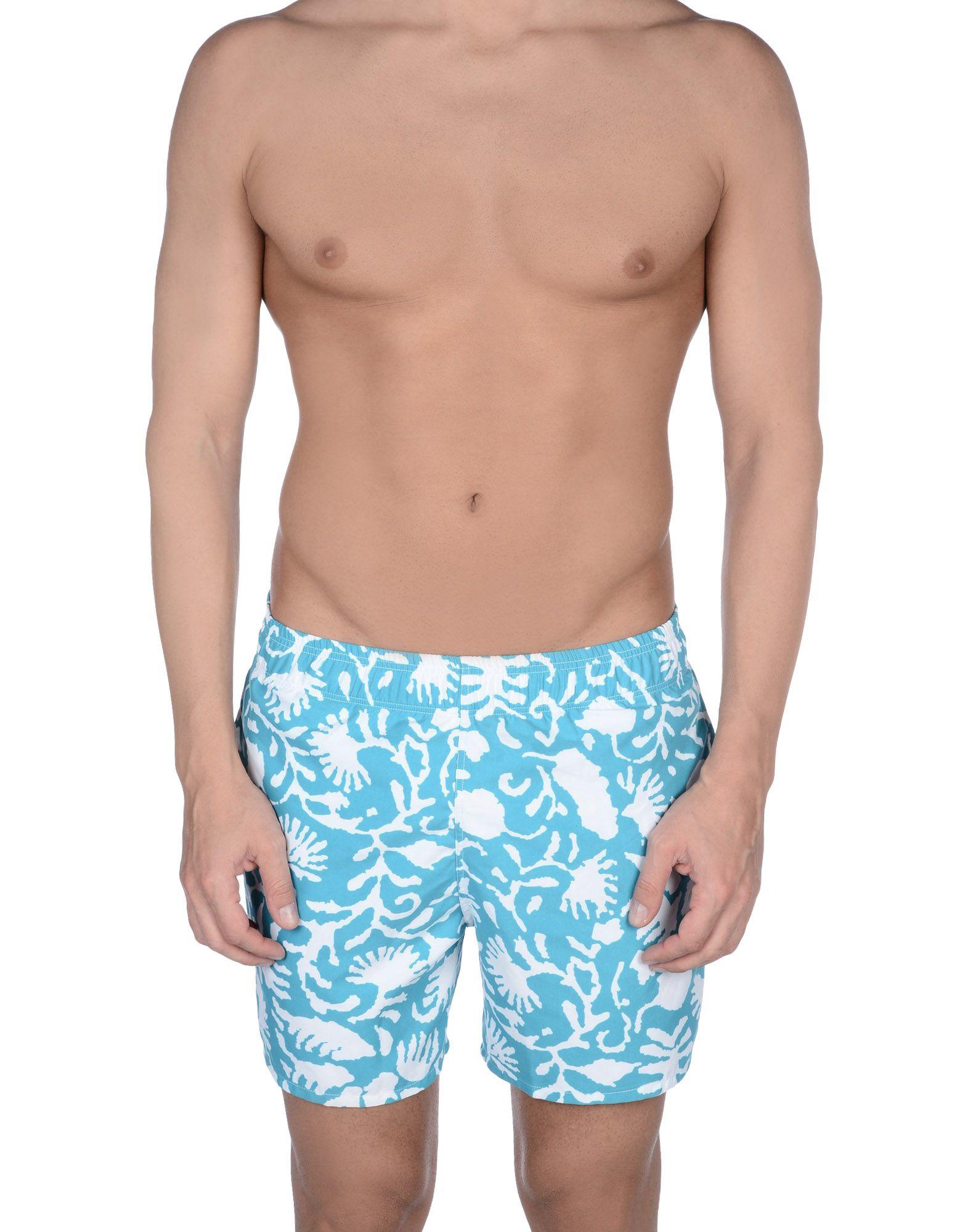 2c874f2746 Lyst - Zegna Sport Swimming Trunks in Blue for Men