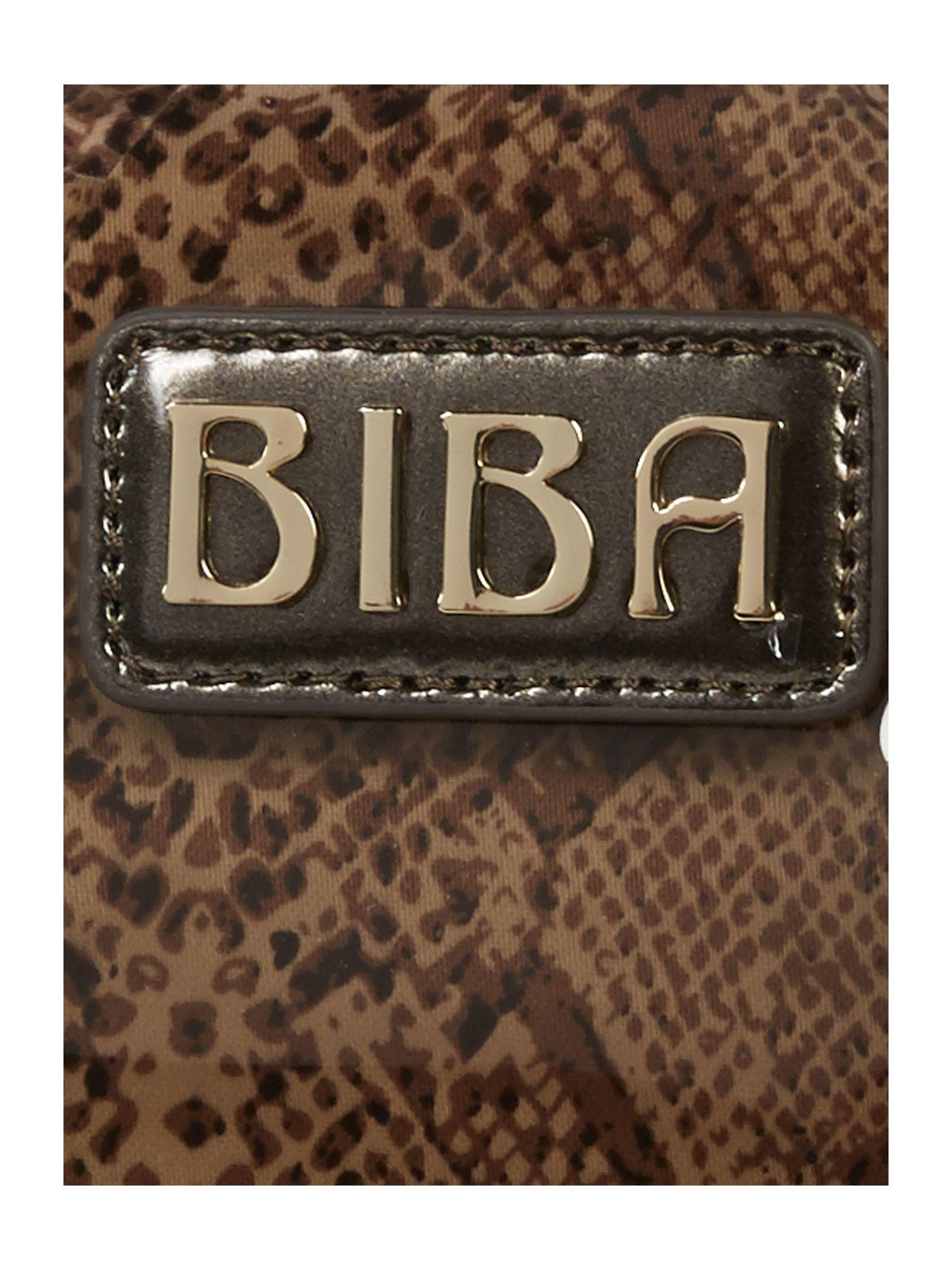 Biba Perspex Jelly Beach Bag in Brown | Lyst