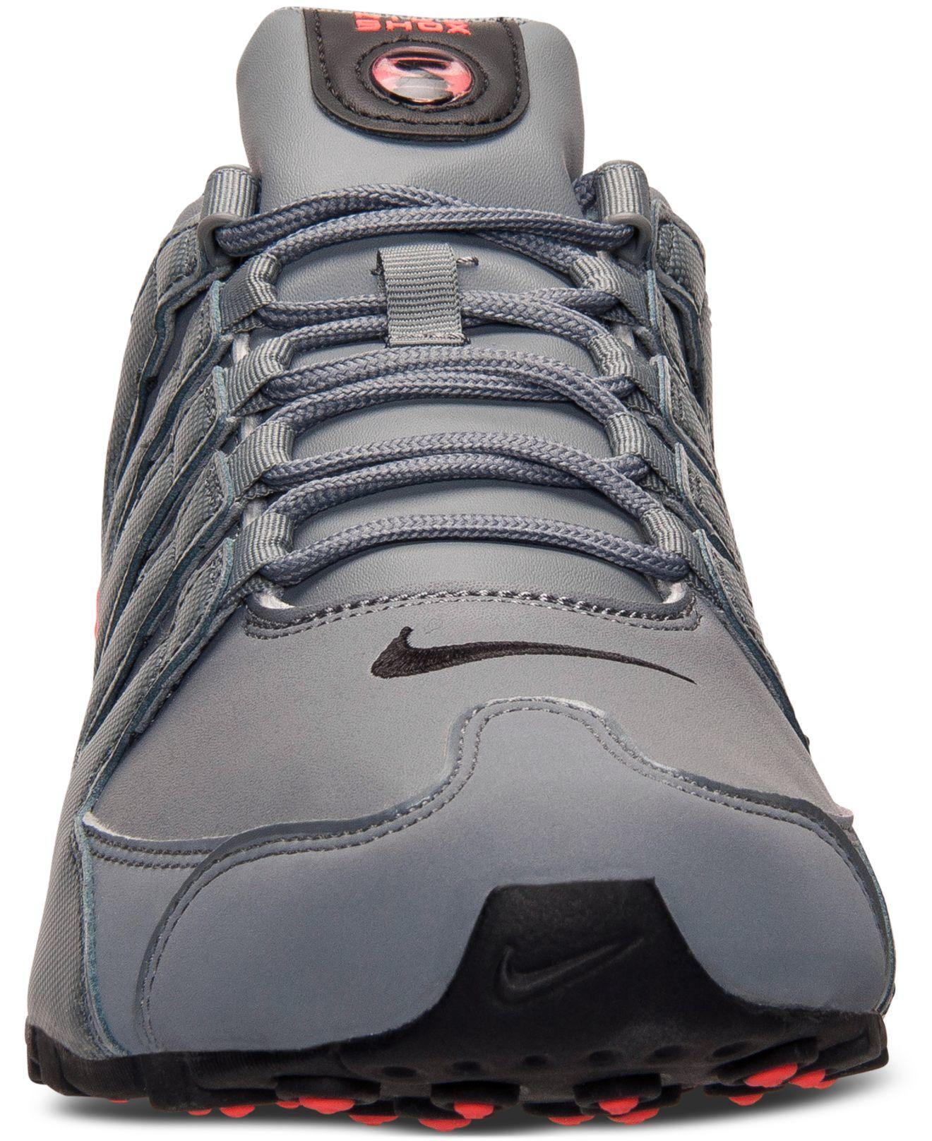 Lyst Nike Men S Shox Nz Running Sneakers From Finish