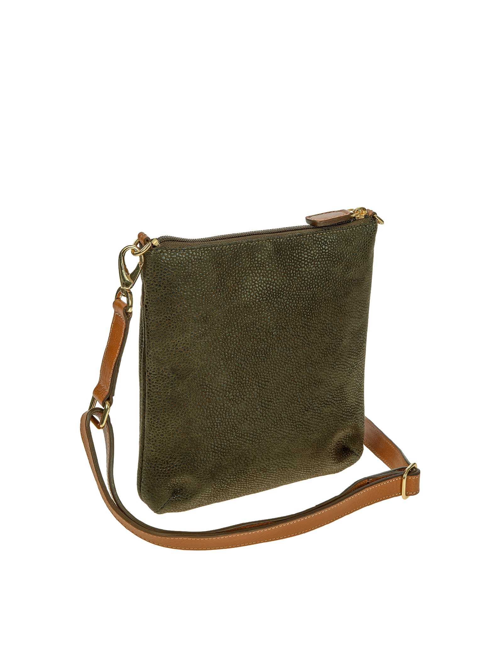 lyst brics life olive green small crossbody bag in green