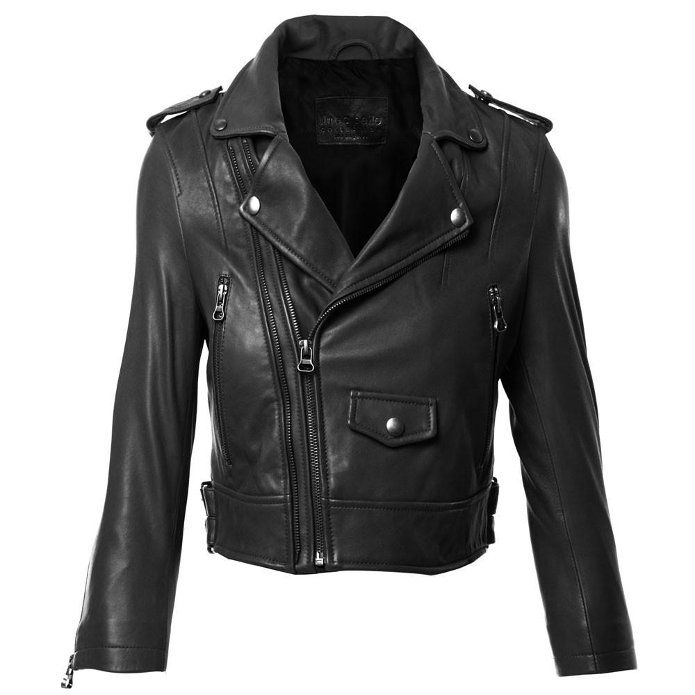 Linea leather jacket