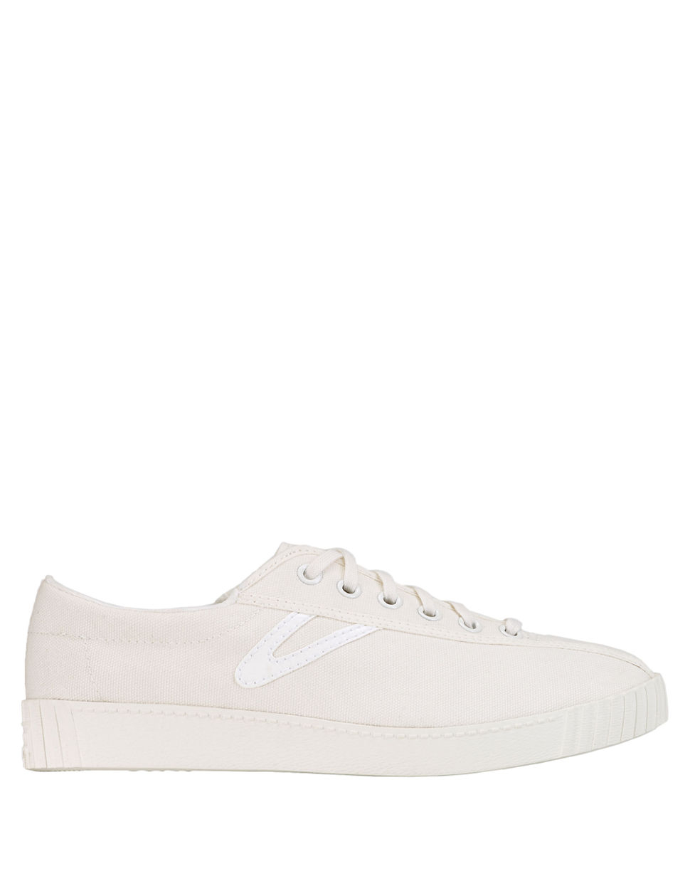tretorn nylite canvas sneakers in white lyst