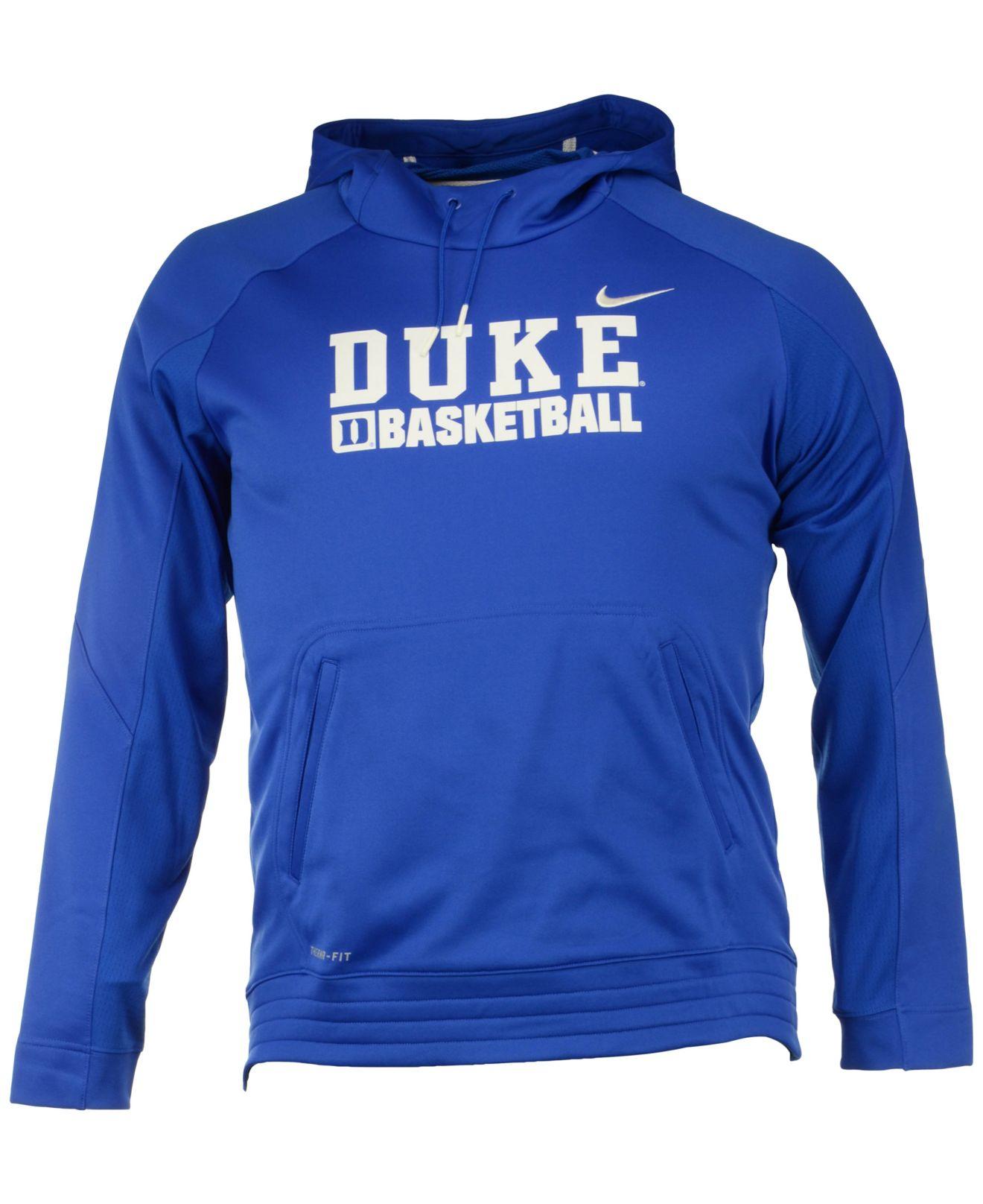 Blue Duke Hoodie Elite Basketball Nike Devils Men's For Men K1TFlJc