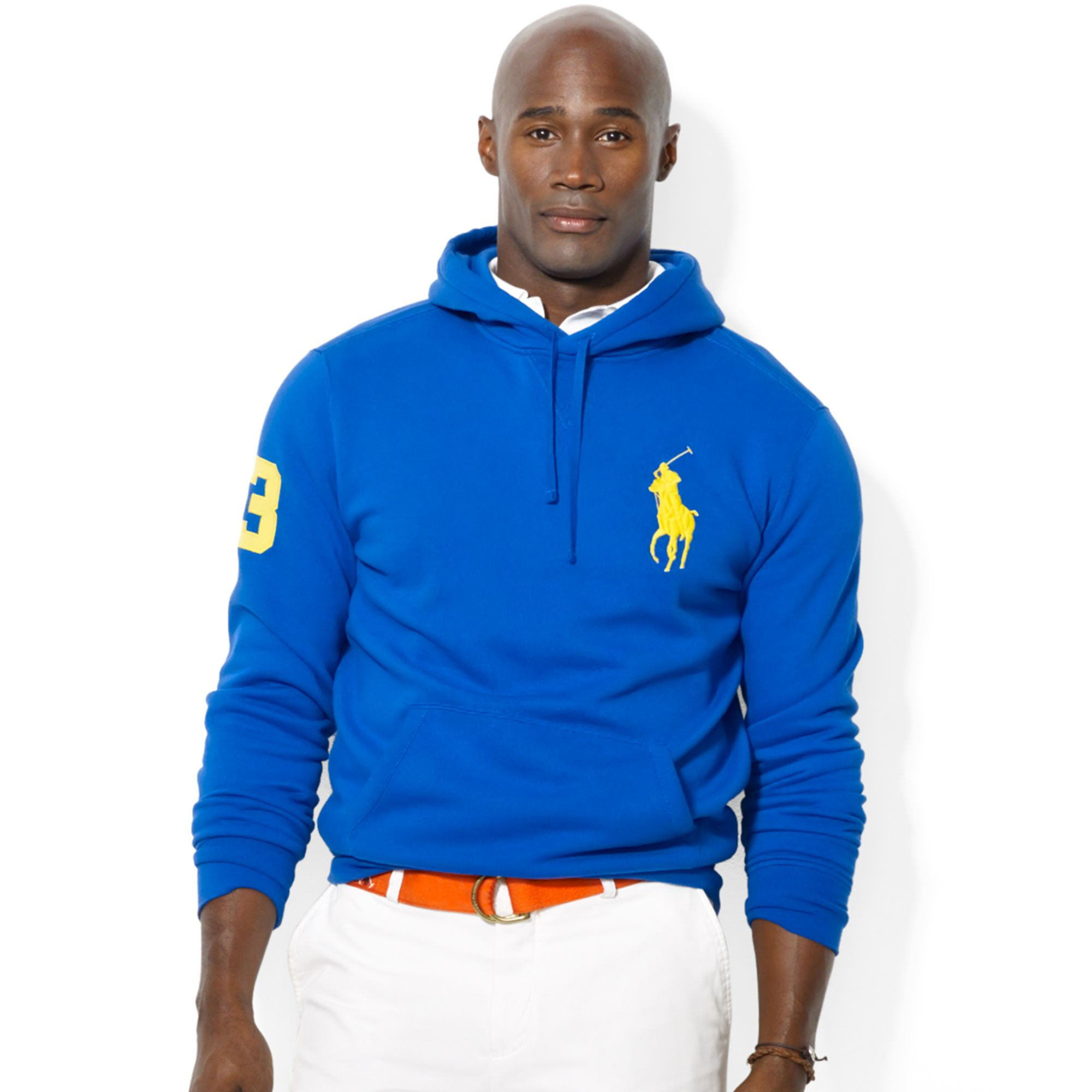 fb8cce50f0d45f Ralph Lauren Polo Big and Tall Big Pony Beach Fleece Pullover Hoodie ...