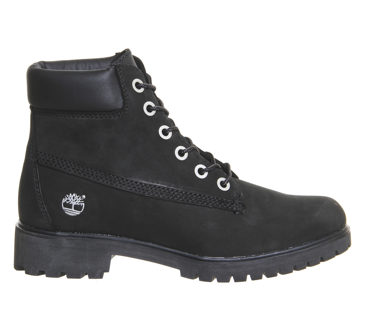 timberland slim 6inch premium boots in black lyst
