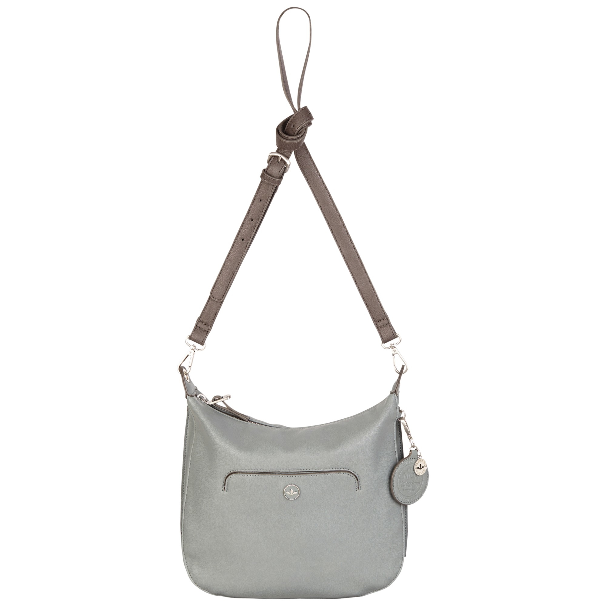 71ab0737d16 Nica Leela Large Across Body Bag in Gray - Lyst