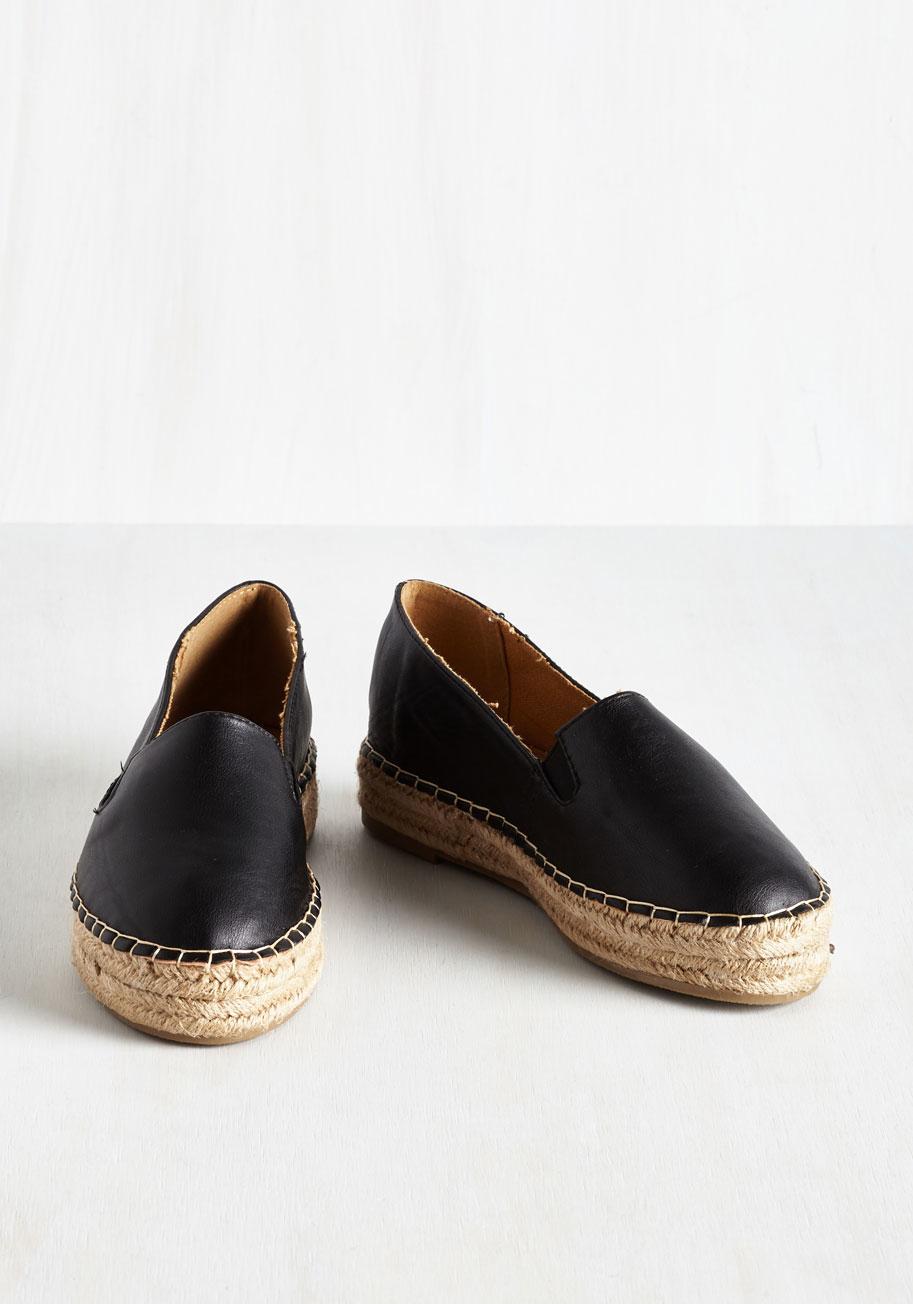 dollhouse footwear right back flat you loafer in black lyst