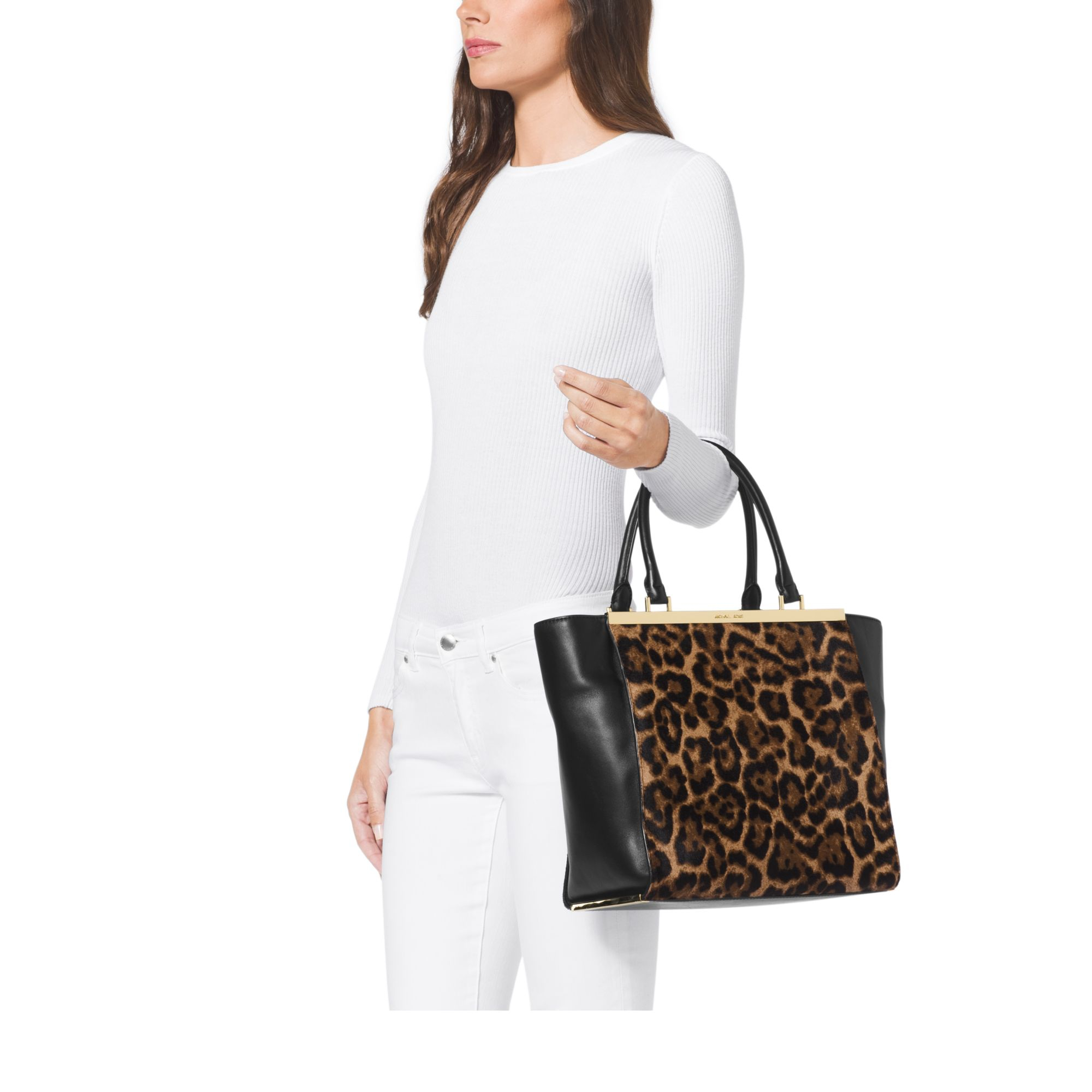 773ce5b24992 michael kors animal jacquard backpack pattern