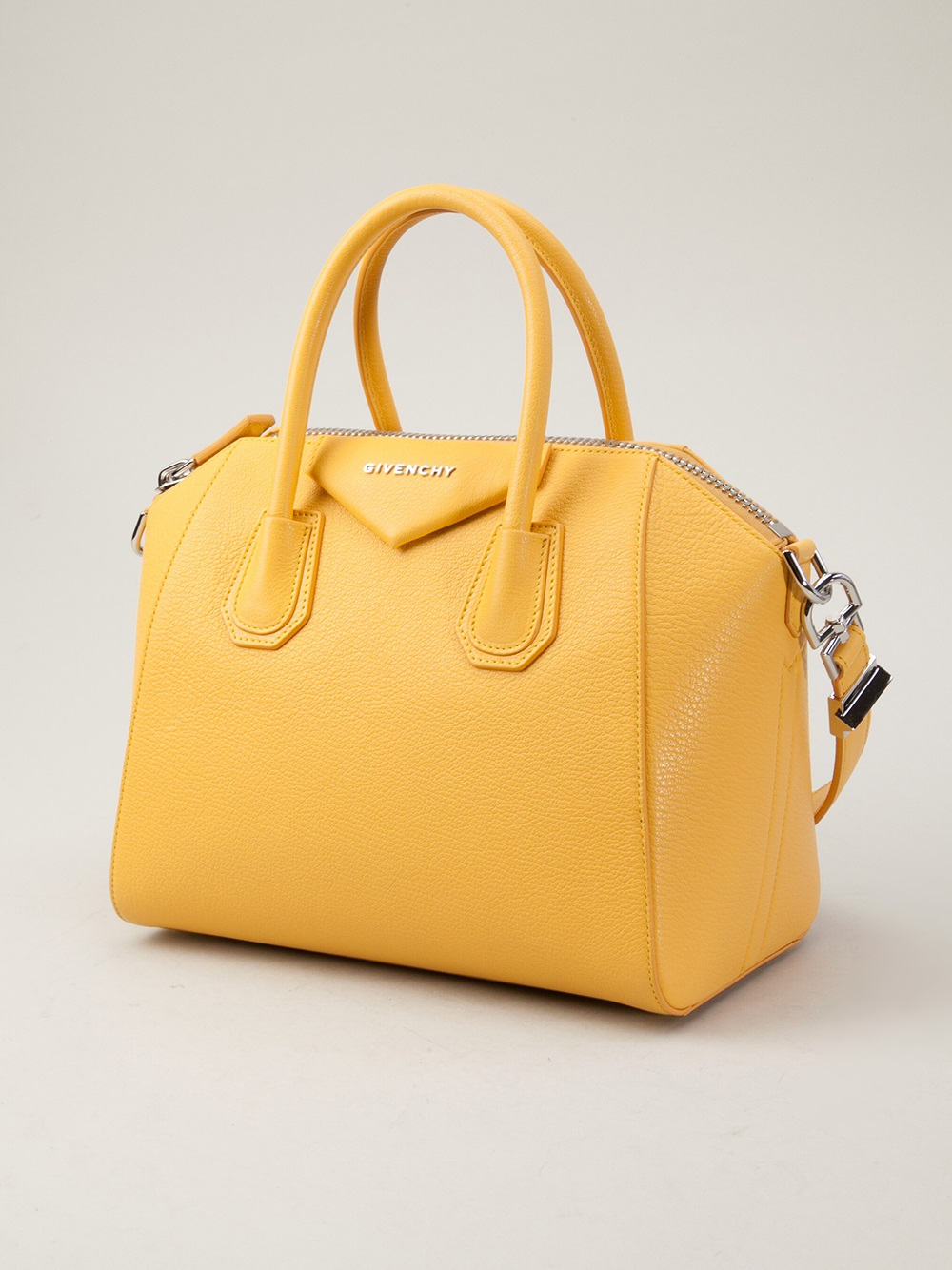 564578dbf7 Lyst - Givenchy Antigona Small Bag in Yellow