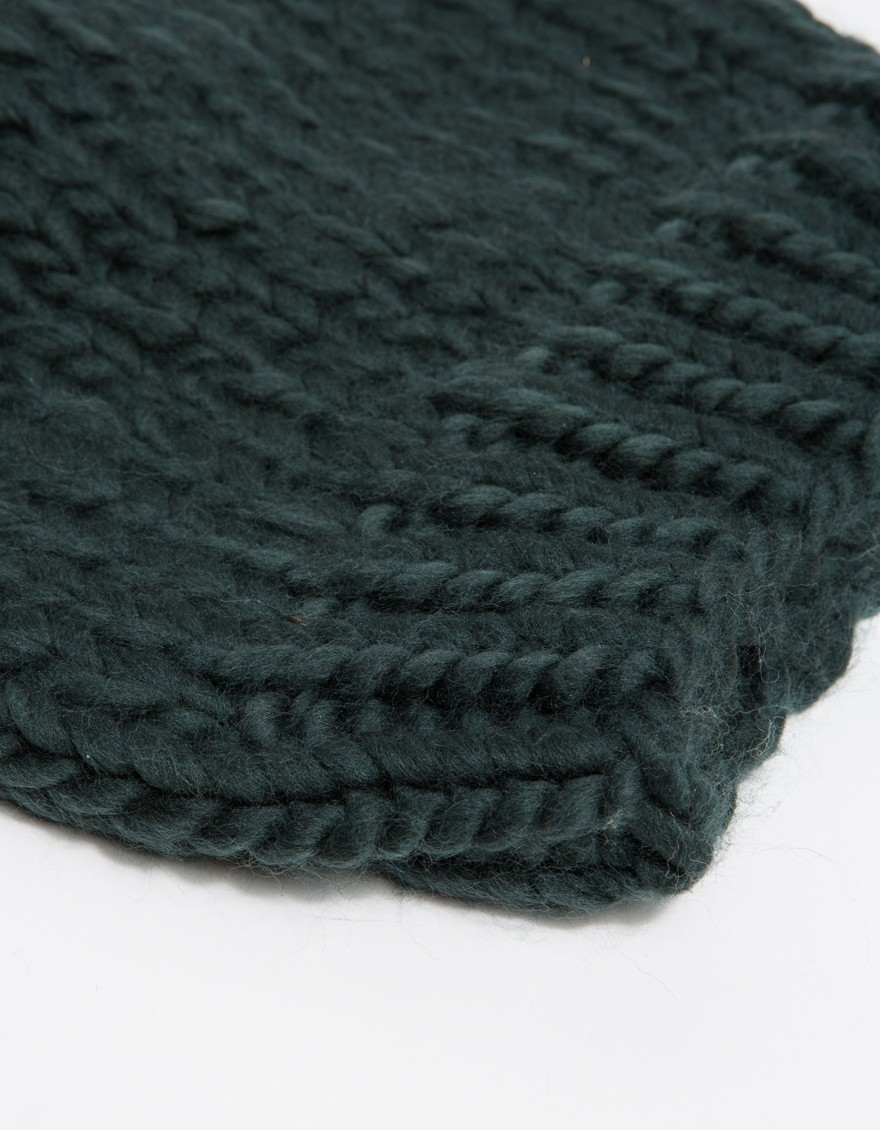 Lyst wool and the gang tau beanie in green - Gang and the wool ...