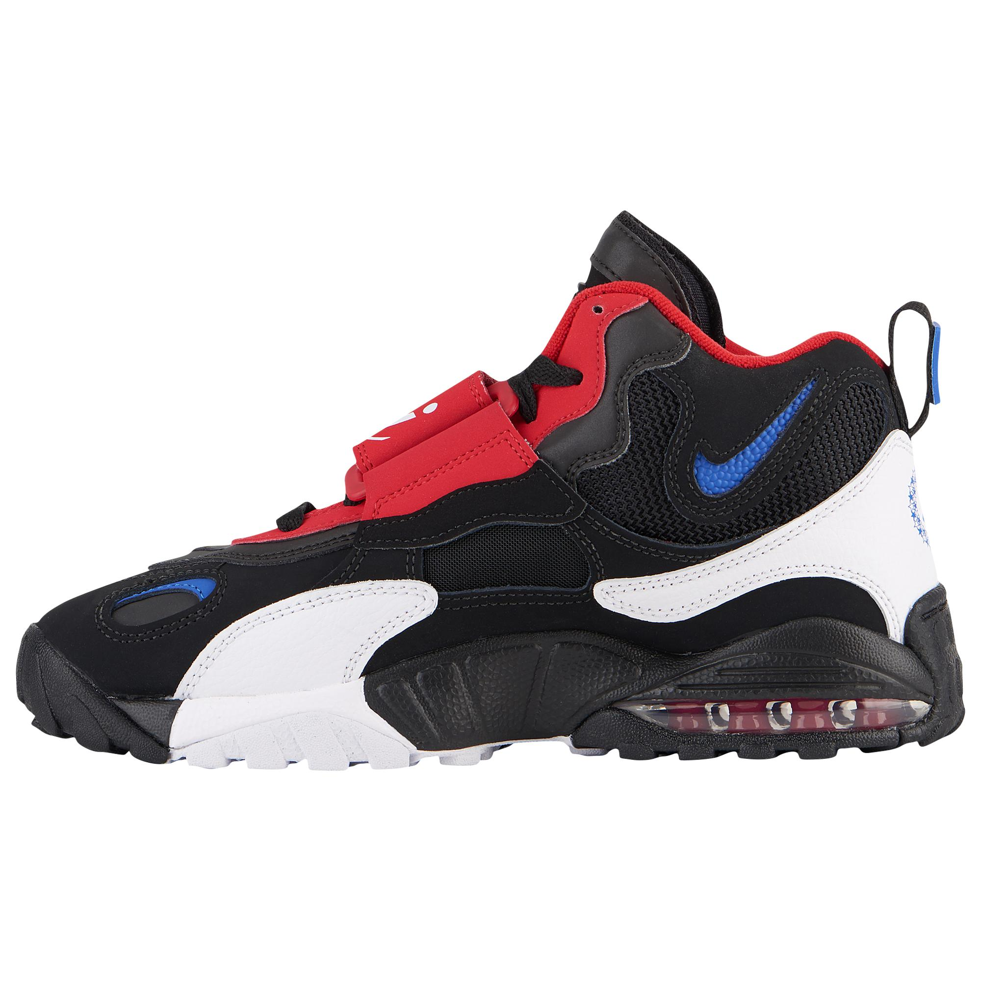 Nike Leather Air Max Speed Turf Training Shoes in Red for Men - Lyst