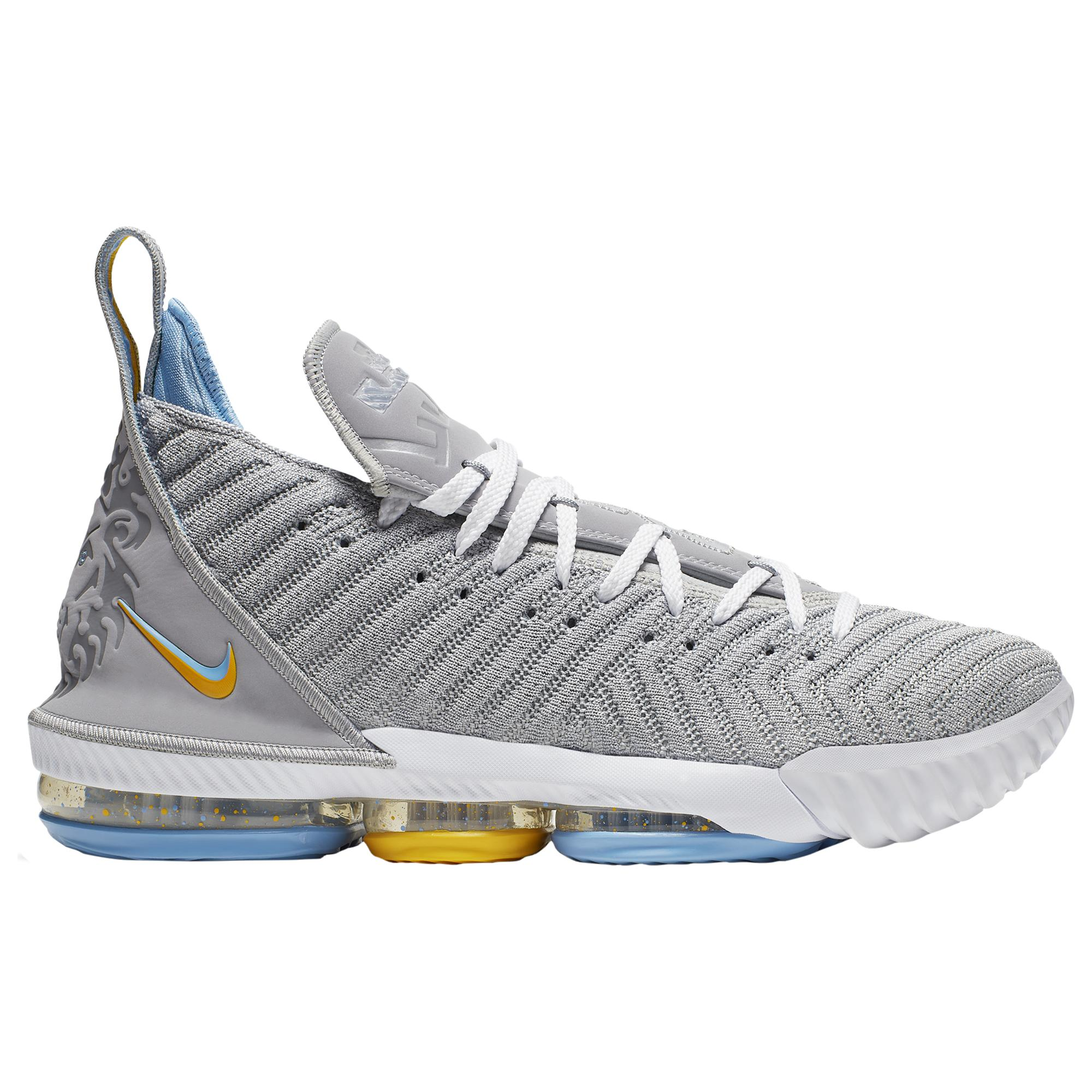 Nike Lace Lebron 16 Basketball Shoes in Gray for Men - Lyst