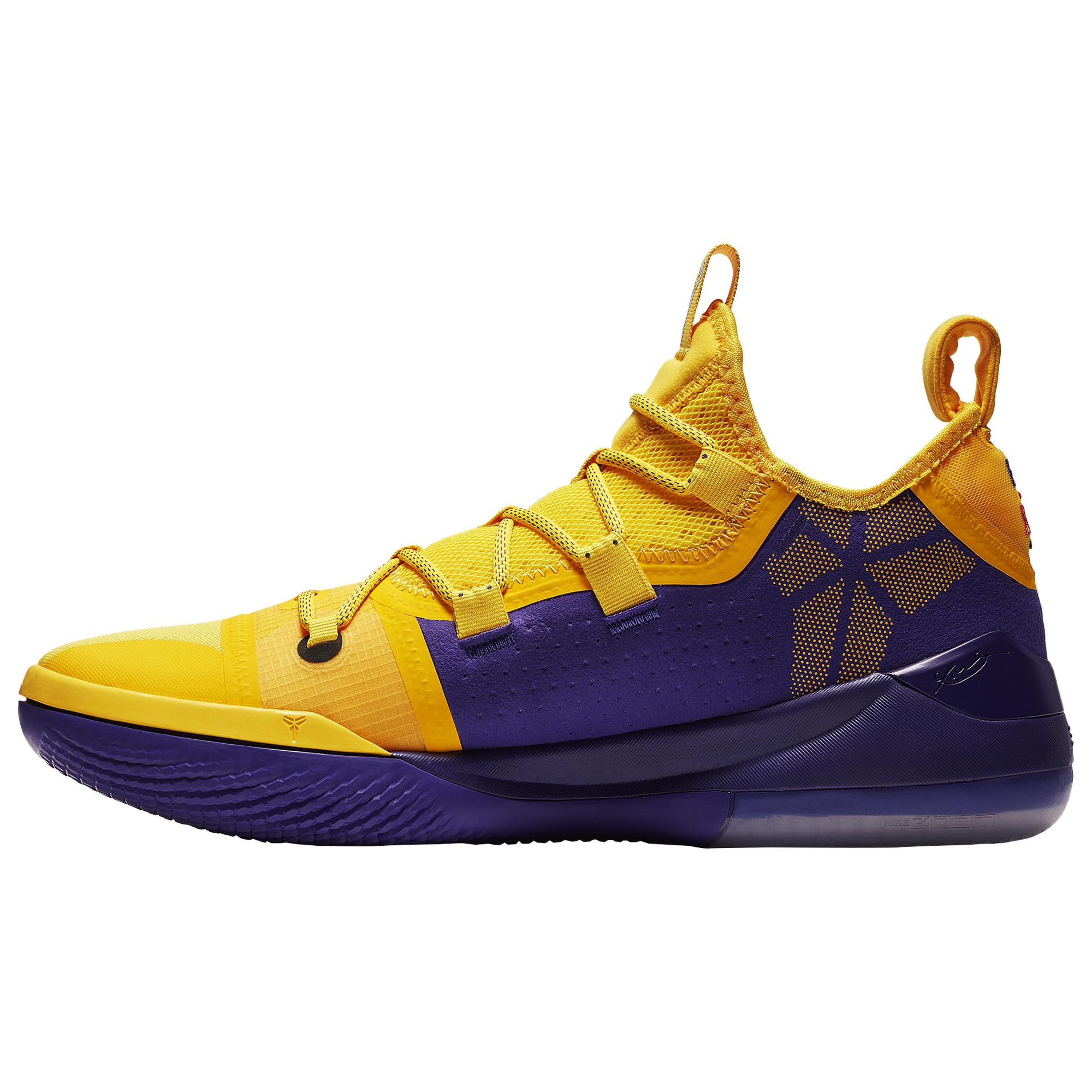 Nike Rubber Kobe Ad Lakers Amarillo in
