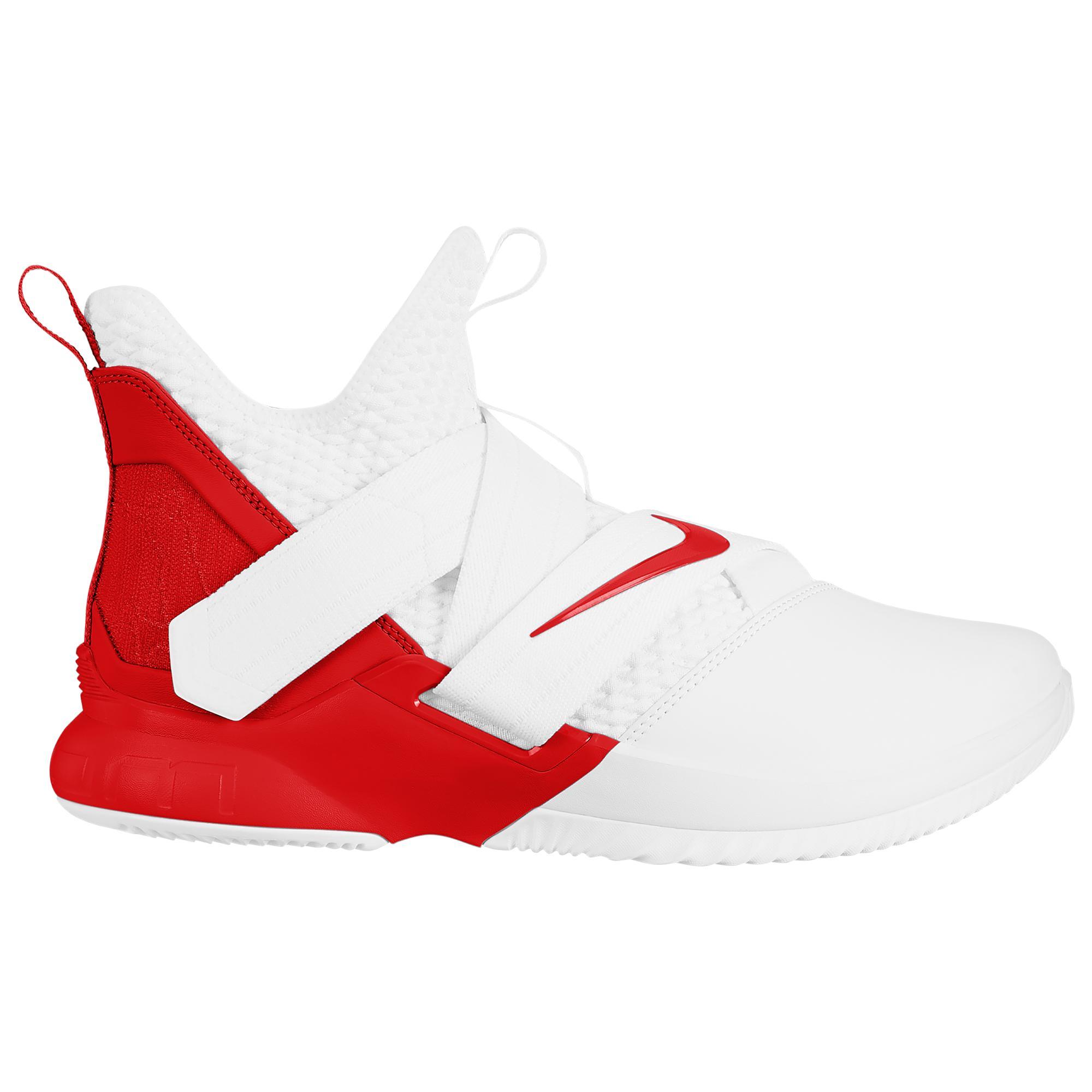 wholesale dealer 77295 e0c7c Nike Lebron James Lebron Soldier Xii in Red for Men - Lyst