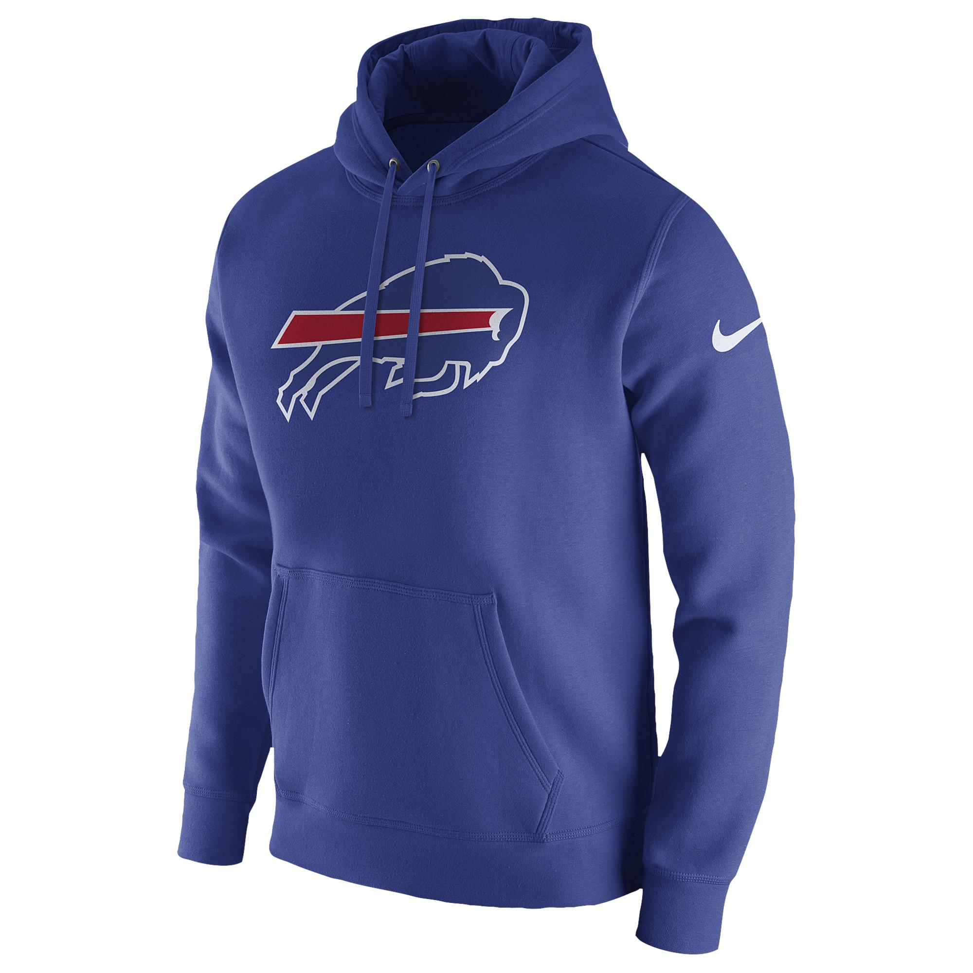 reputable site ec129 854d2 Nike Buffalo Bills Nfl Pullover Fleece Club Hoodie in Blue ...