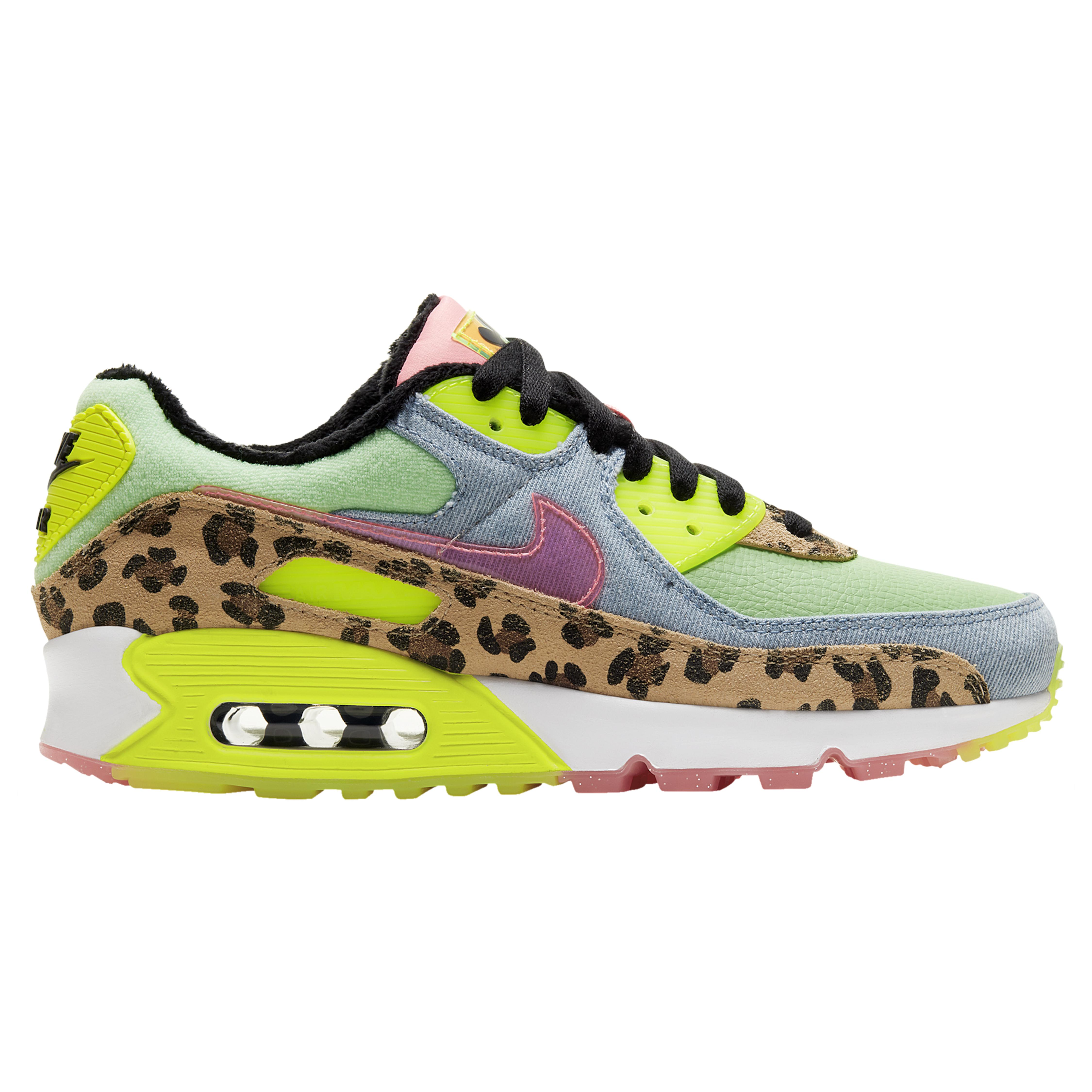 Nike Denim Air Max 90 Lx - Shoes in Green - Save 28% - Lyst