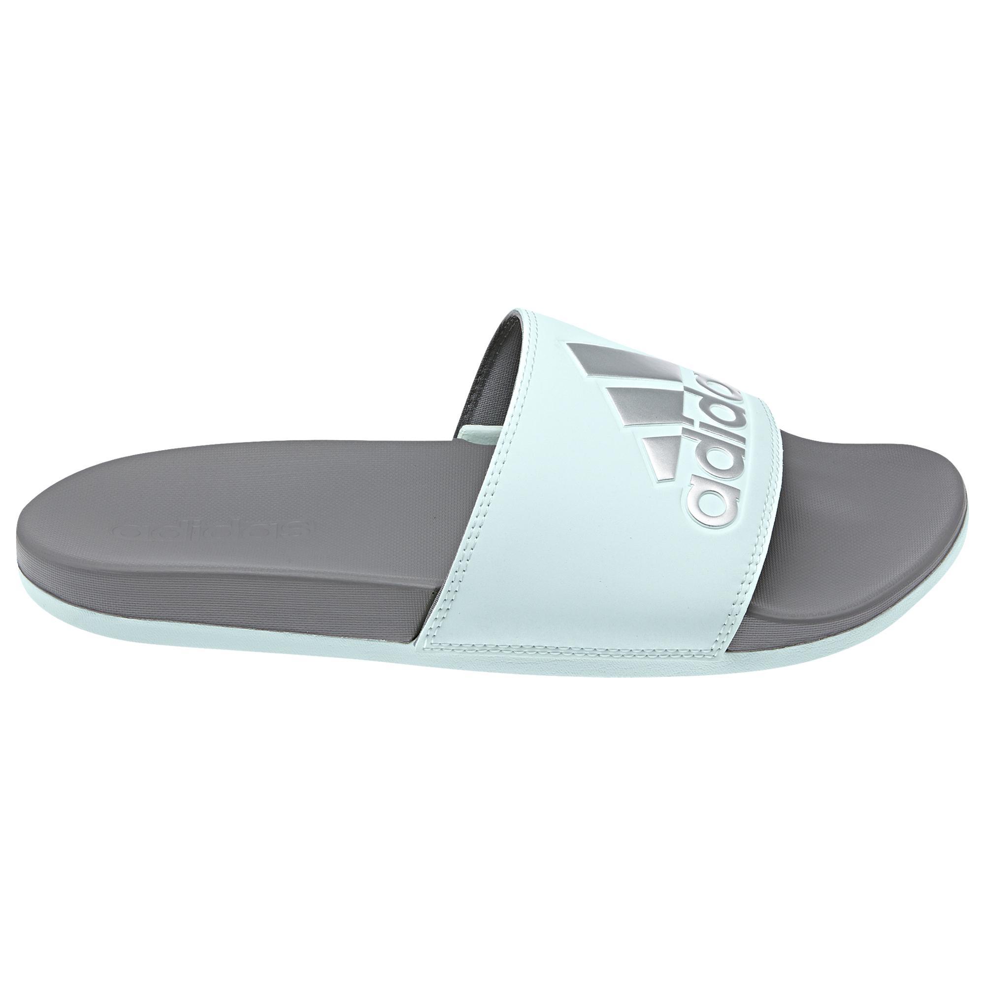7991d0b2f4f24 Adidas - Multicolor Adilette Cf Plus Slide Shoes - Lyst