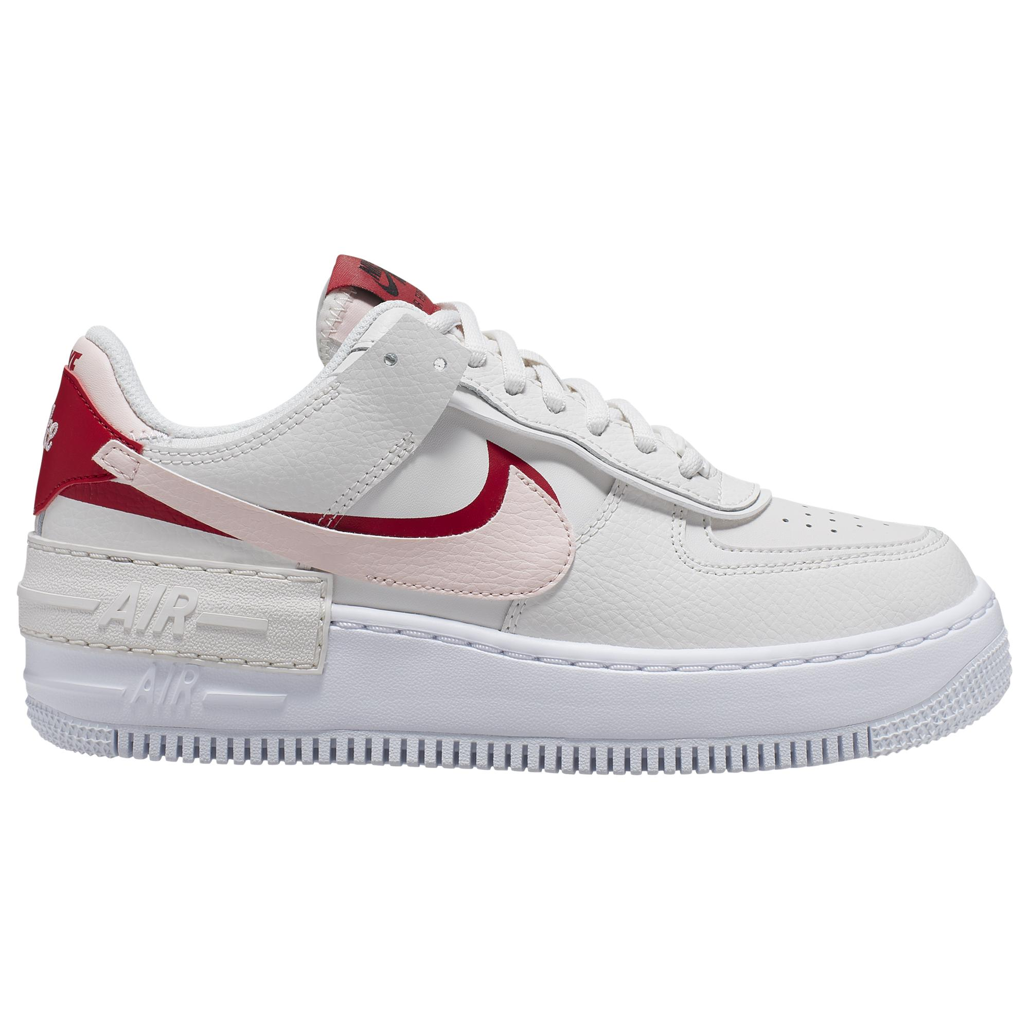 Nike Leather Air Force 1 Shadow Basketball Shoes in Gray - Lyst