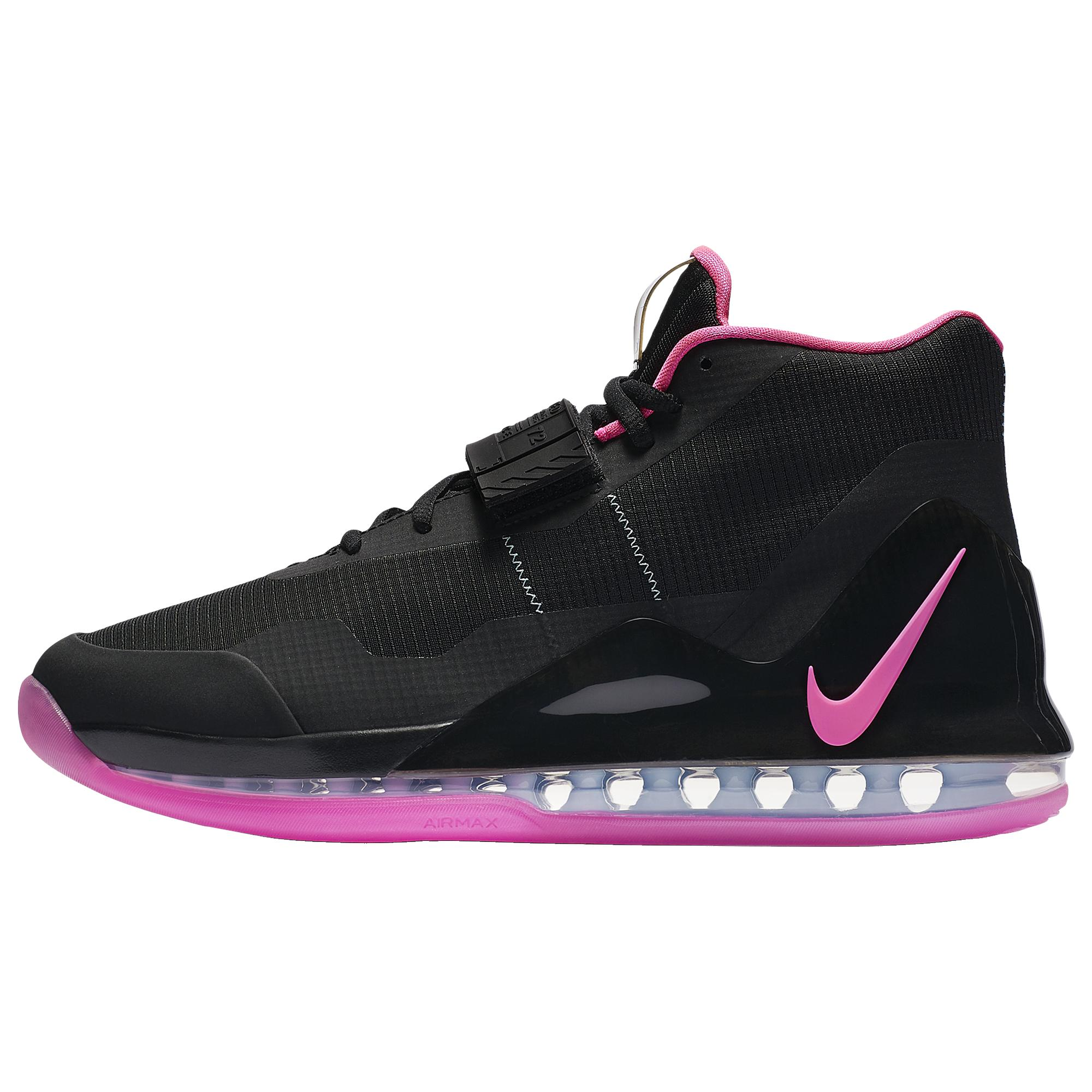 Nike Air Force Max Basketball Shoes in Black for Men - Lyst