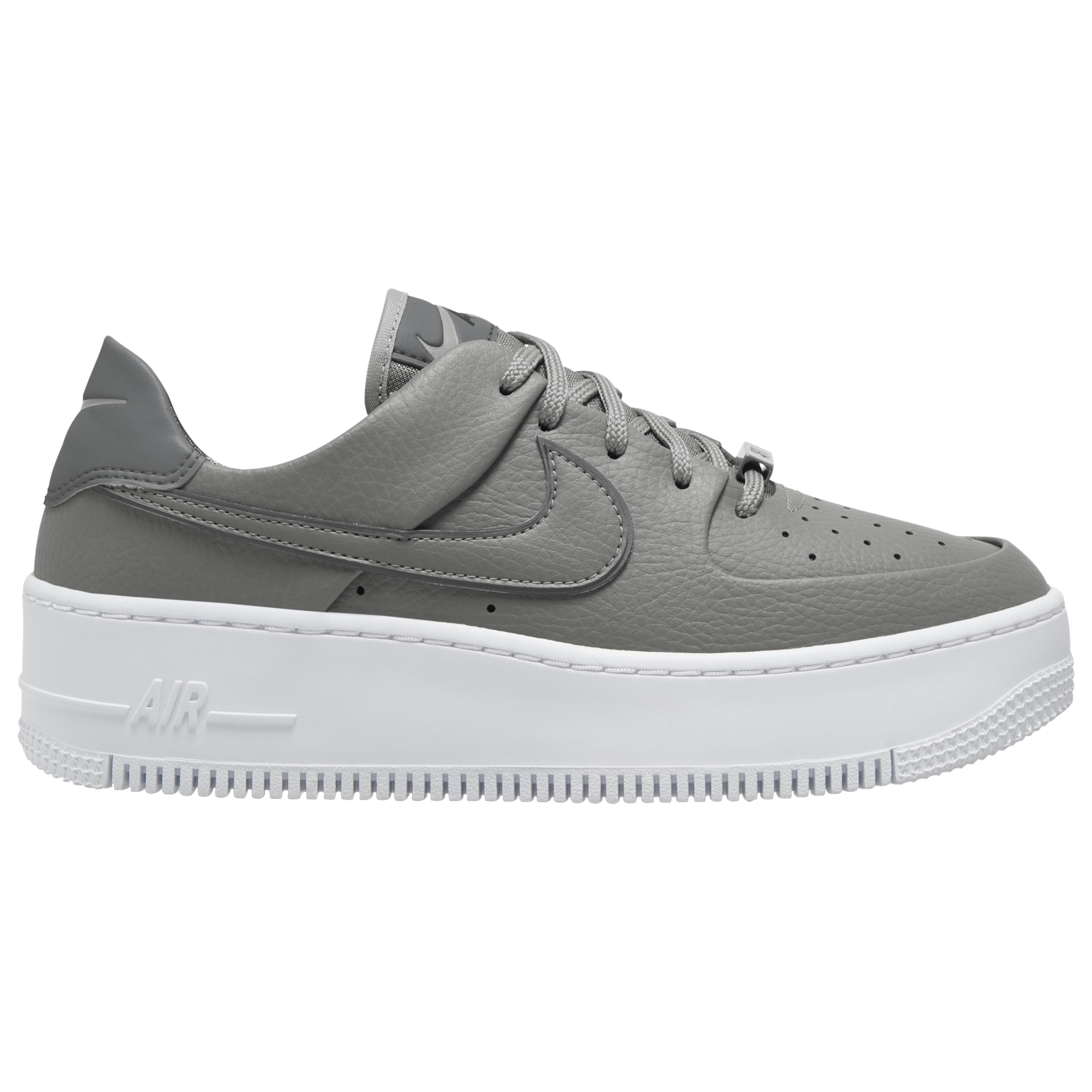 Nike Air Force 1 Sage Low in Smoke Grey