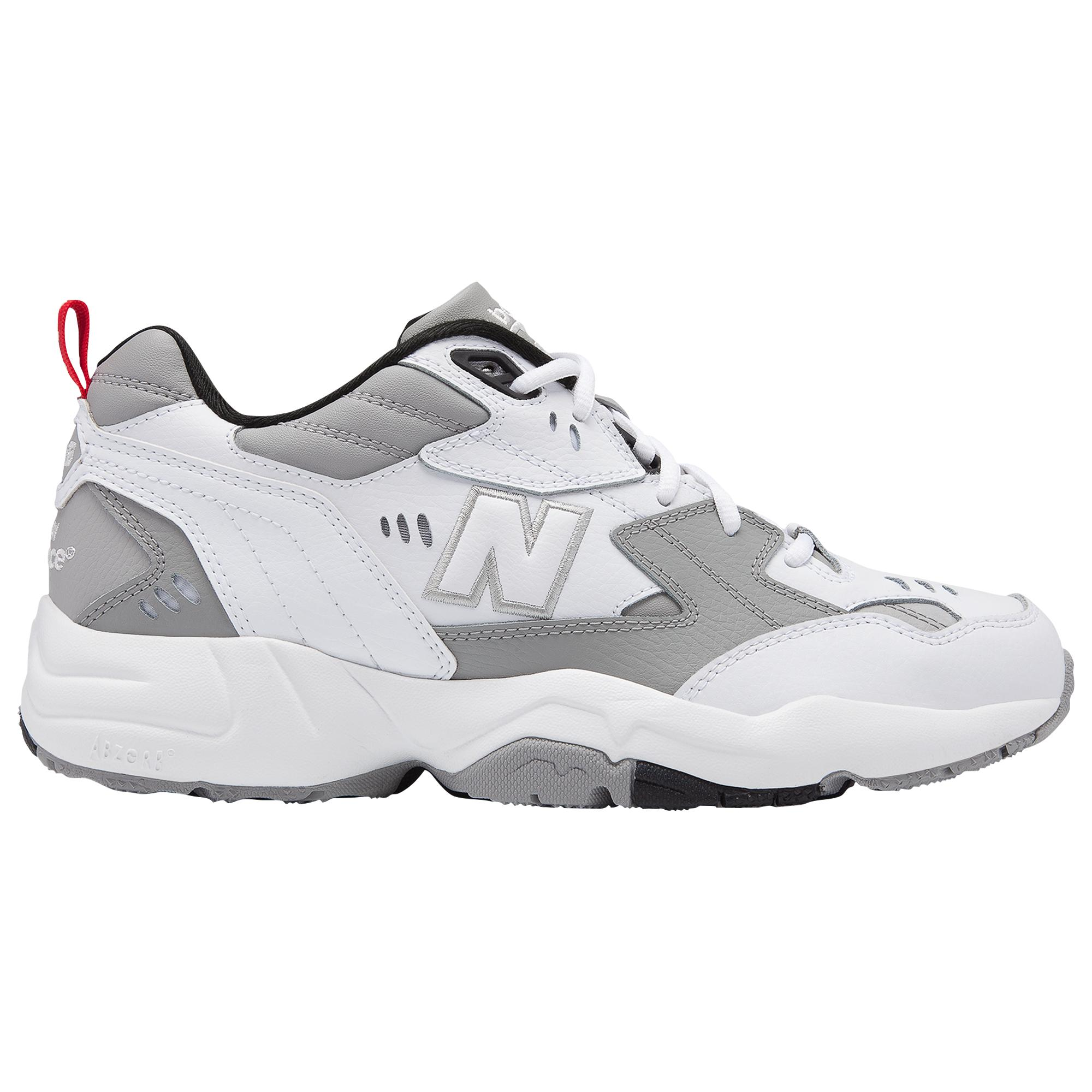 New Balance Leather 608v1 in White/Grey
