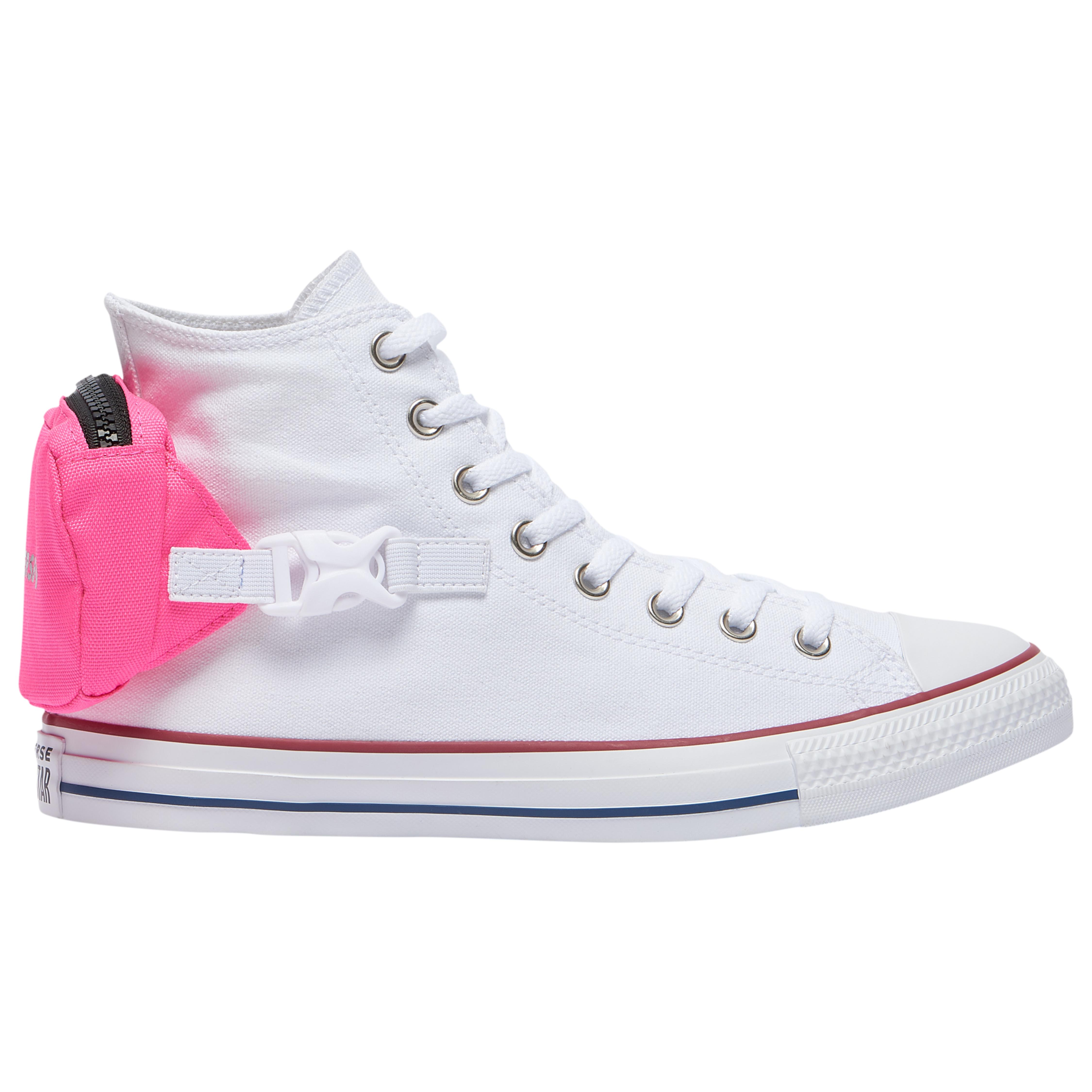 Converse Canvas Ctas Buckle Up Hi in Pink for Men - Lyst