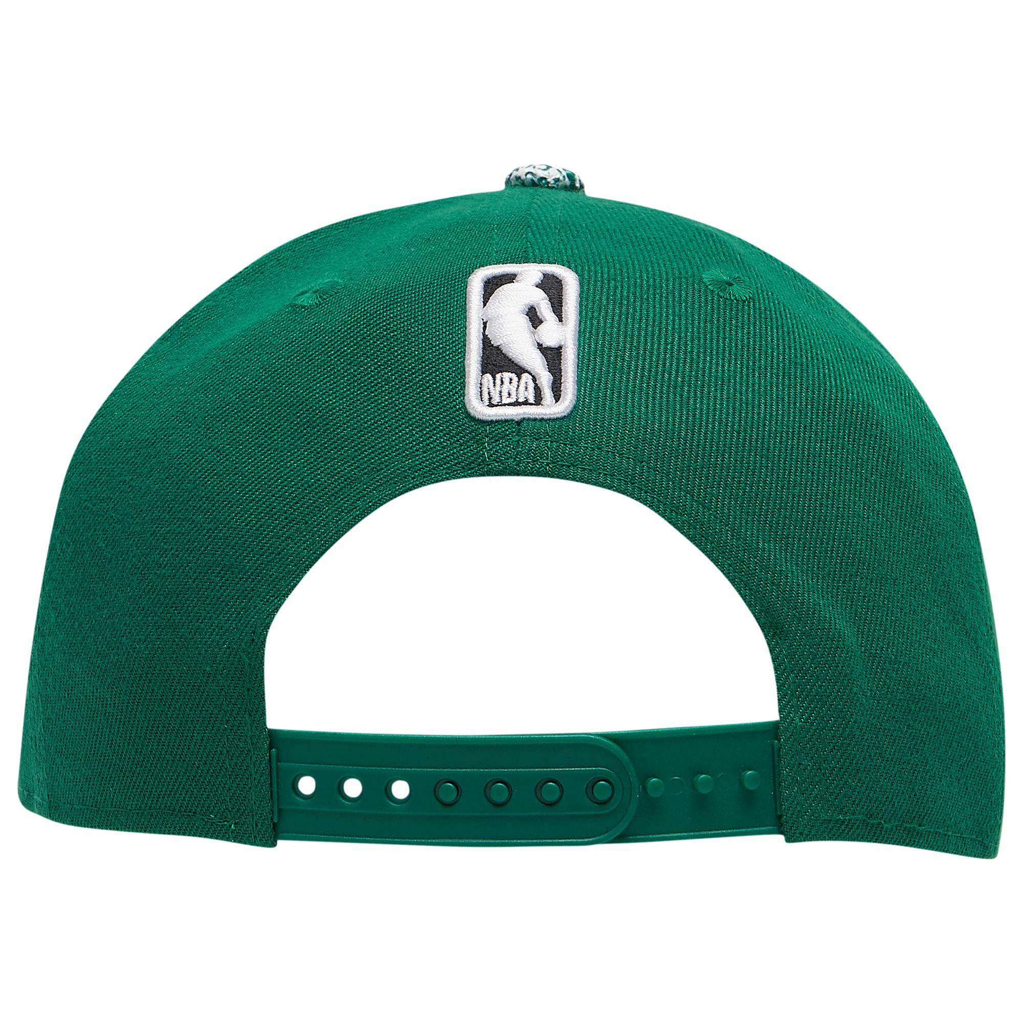size 40 2eb2b 9089e ... Boston Celtics Nba 9fifty Visor Craze Snapback Cap for Men - Lyst. View  fullscreen