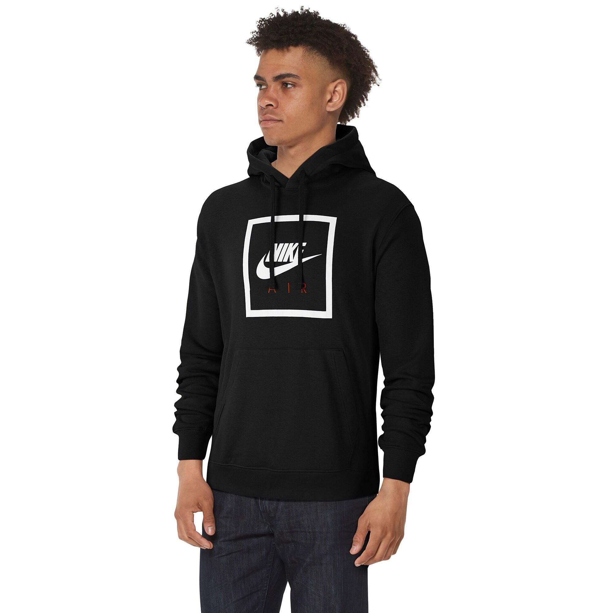 Nike Cotton Air Box Pullover Hoodie in