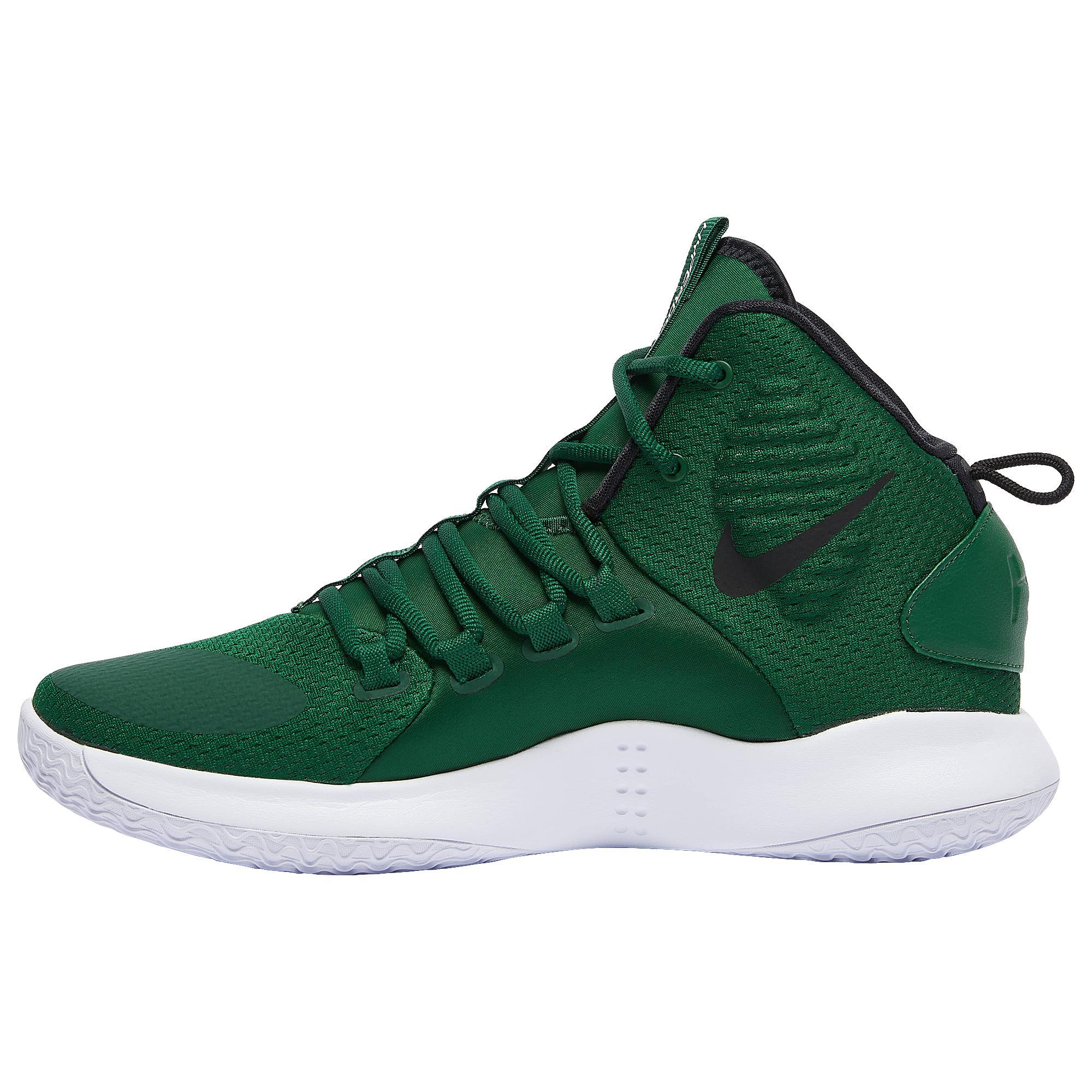 Nike Hyperdunk X Mid in Green/White
