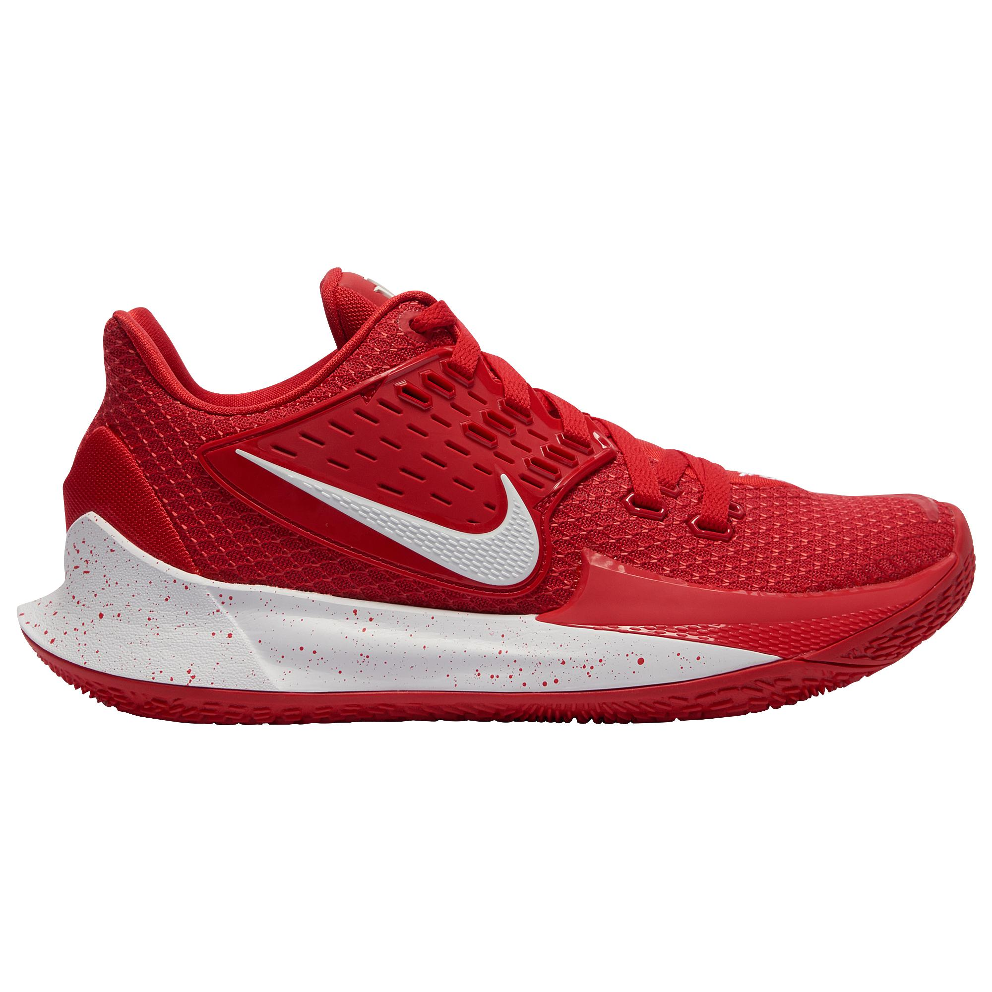 online store aea80 f4870 Men's Red Kyrie Low 2 Basketball Shoes