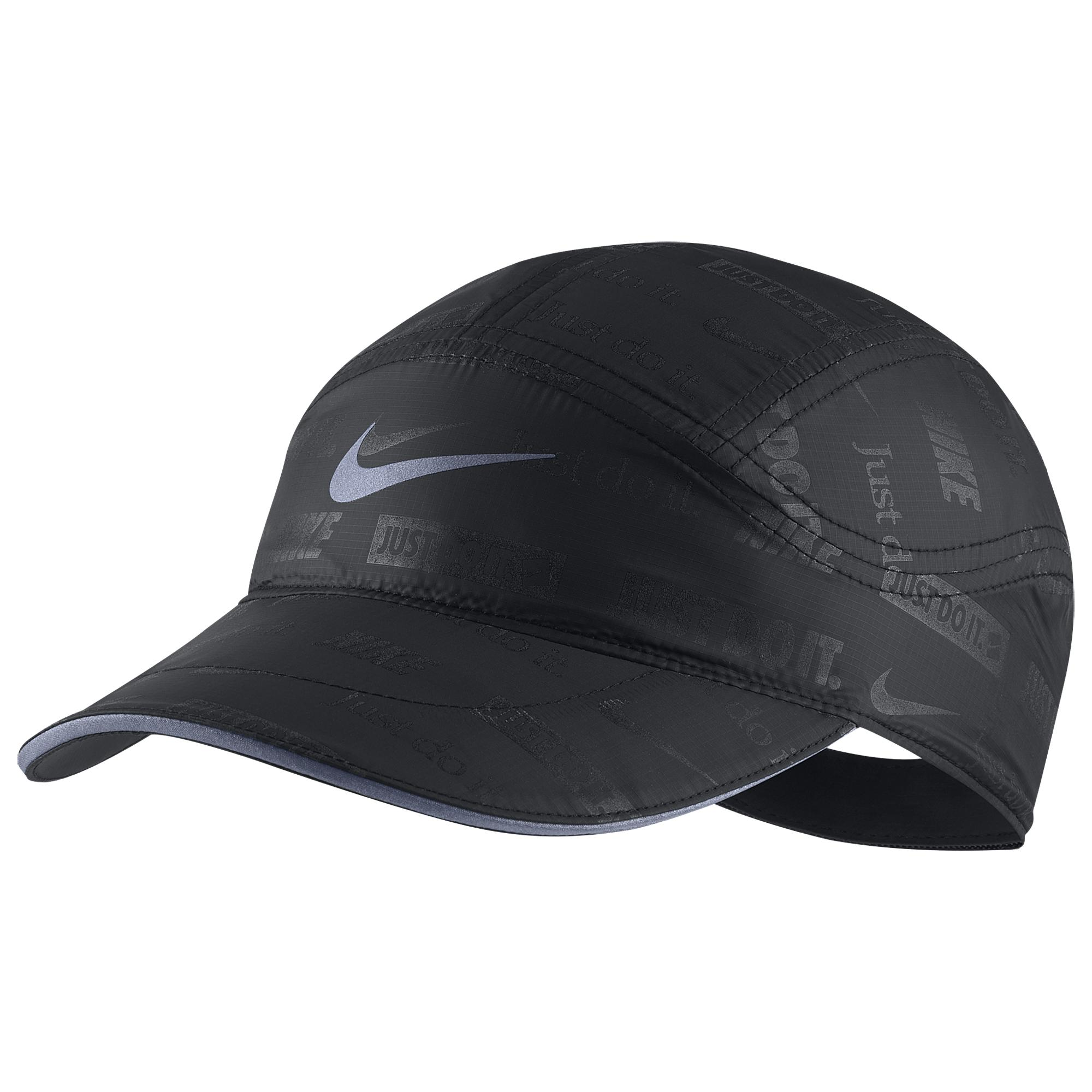 Nike Synthetic Tailwind Ghost Flash Cap In Black For Men Lyst