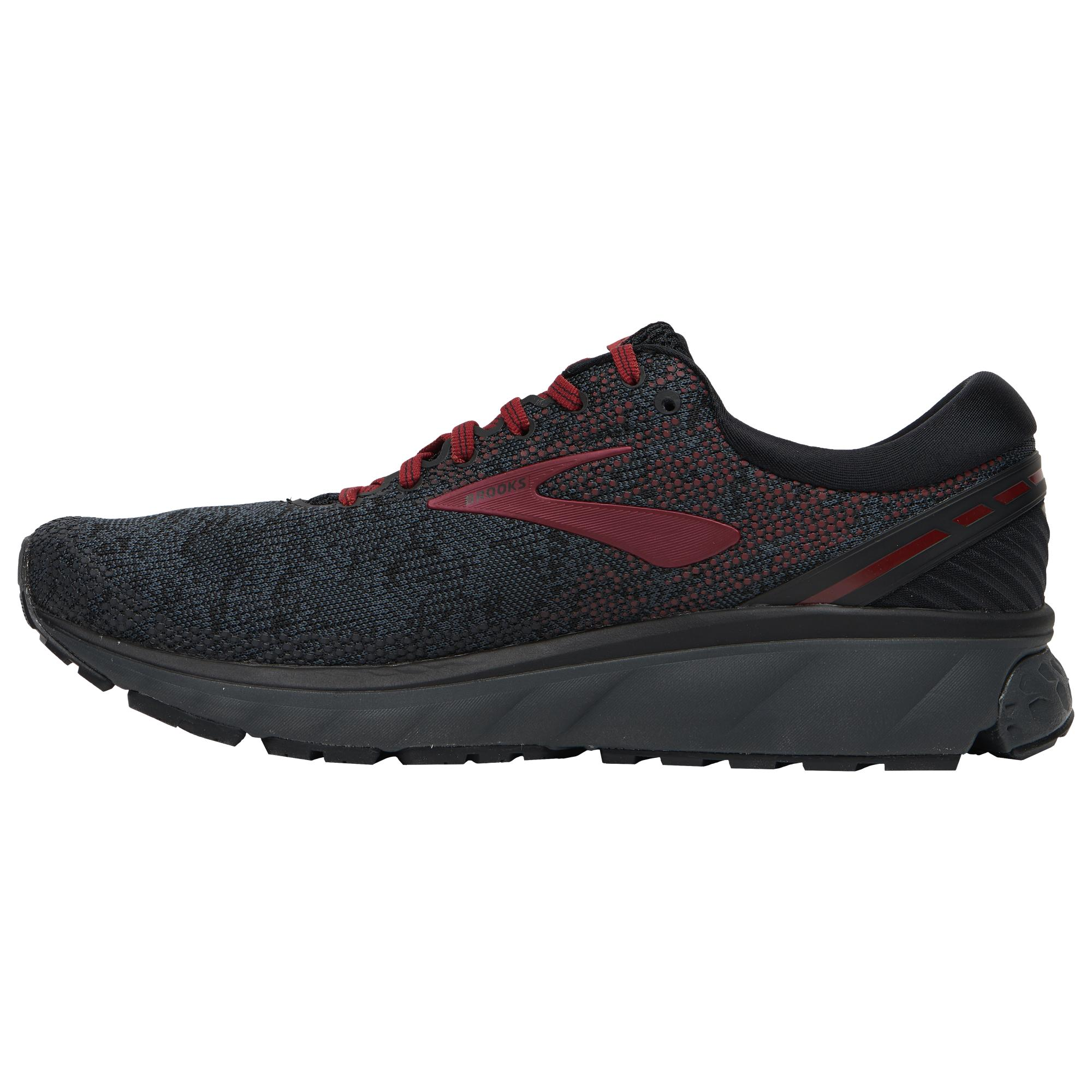 Brooks Rubber Ghost 11 in Black/White