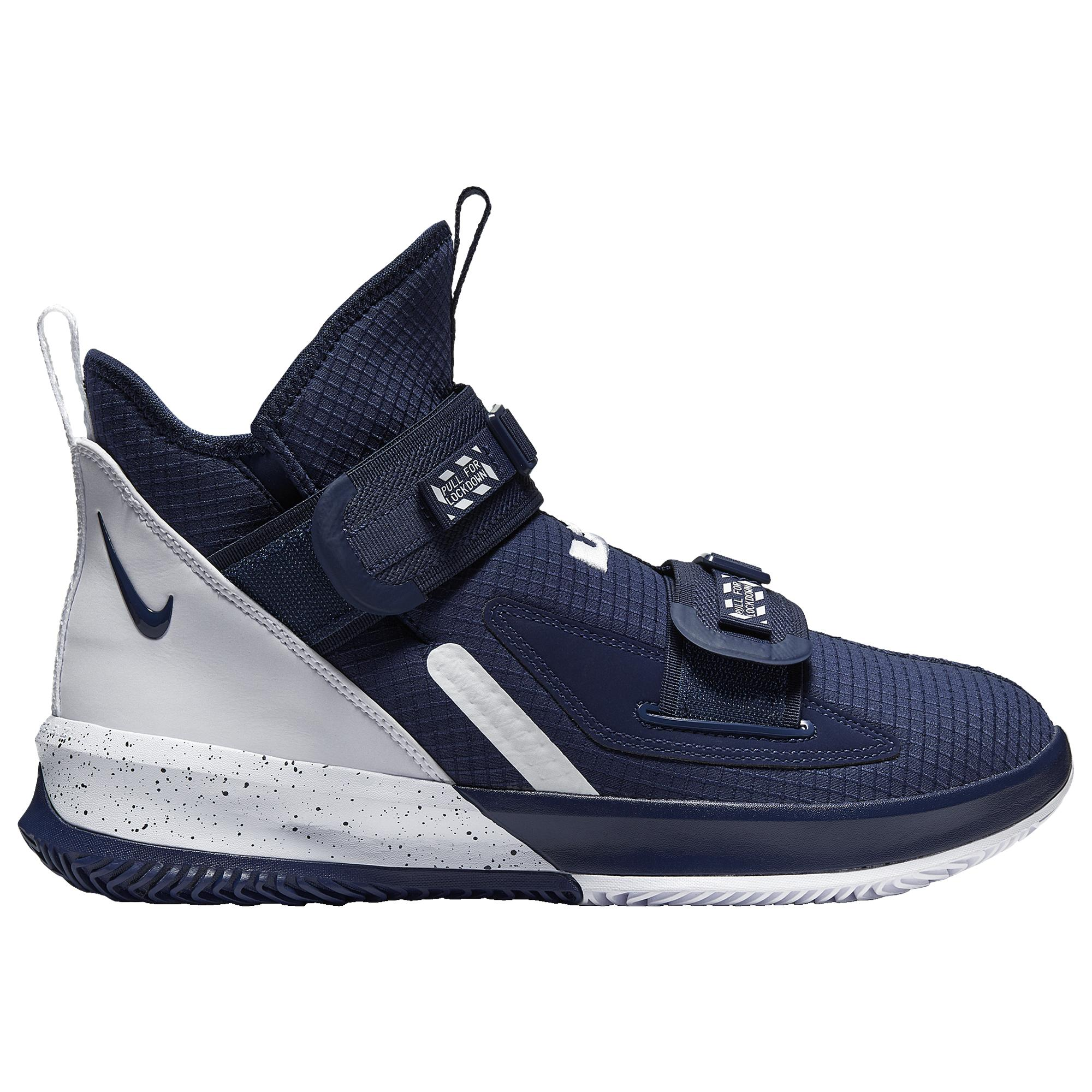 best service wide range casual shoes Nike Rubber Lebron Soldier Xiii Sfg Basketball Shoes in Midnight ...