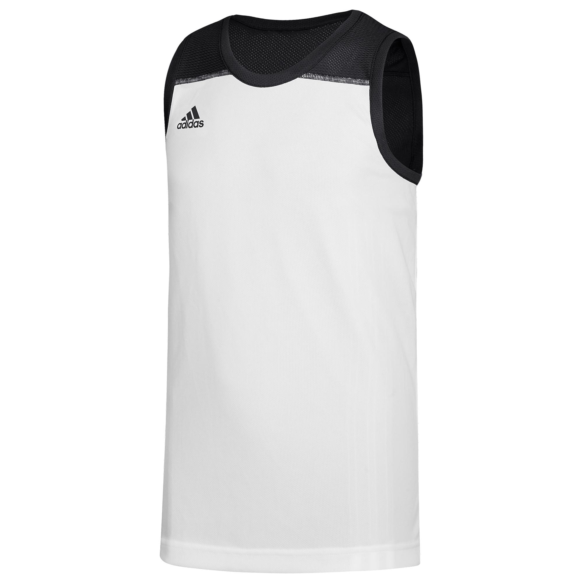 adidas Synthetic Team 3g Speed Reversible Jersey in Black/White ...