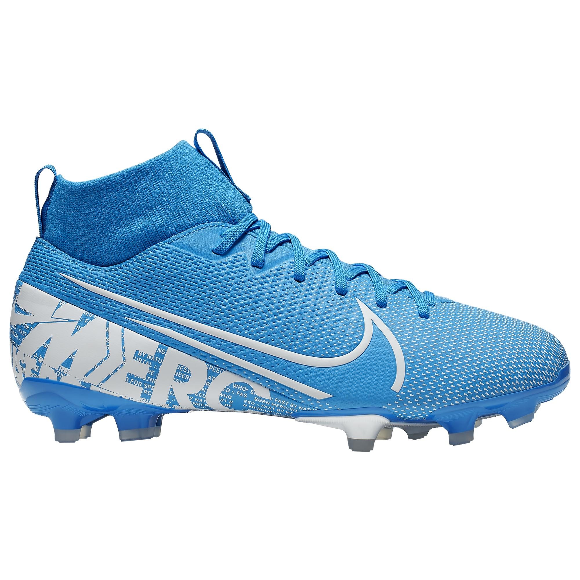 the best attitude 66186 b766d Men's Blue Mercurial Superfly 7 Academy Mg Multi-ground Soccer Cleat