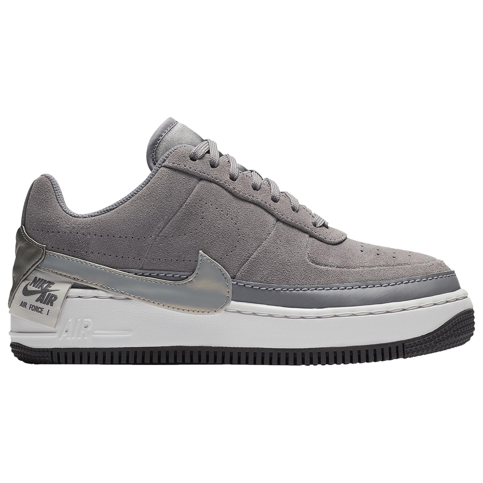 official photos 8f1bb b102c Women's Gray Air Force 1 Jester Running Shoes