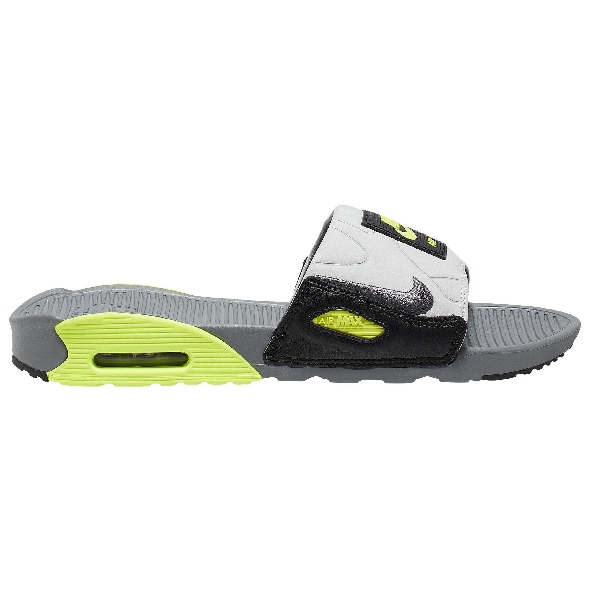 Nike Air Max 90 Slide in Gray for Men - Lyst